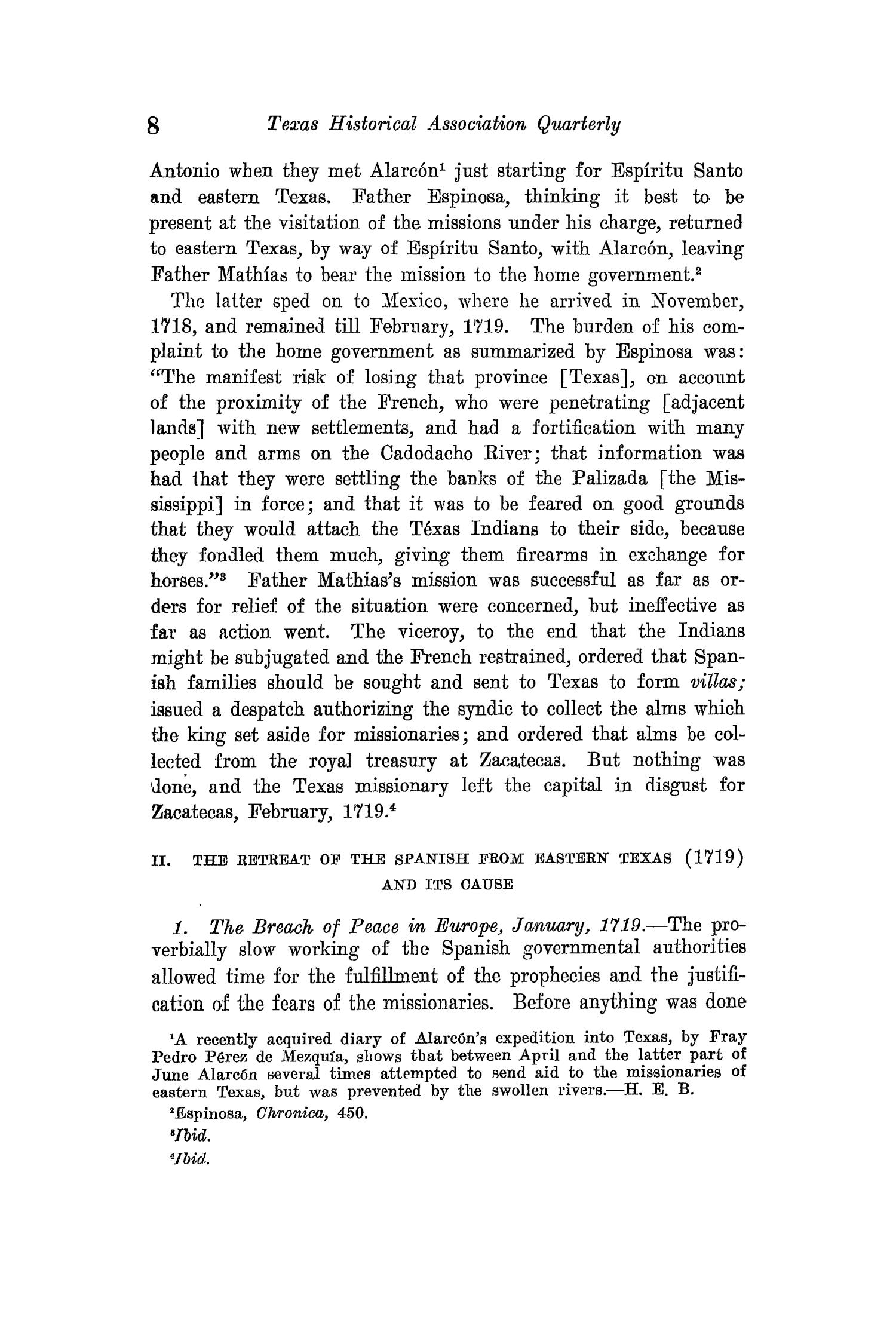The Quarterly of the Texas State Historical Association, Volume 15, July 1911 - April, 1912                                                                                                      8