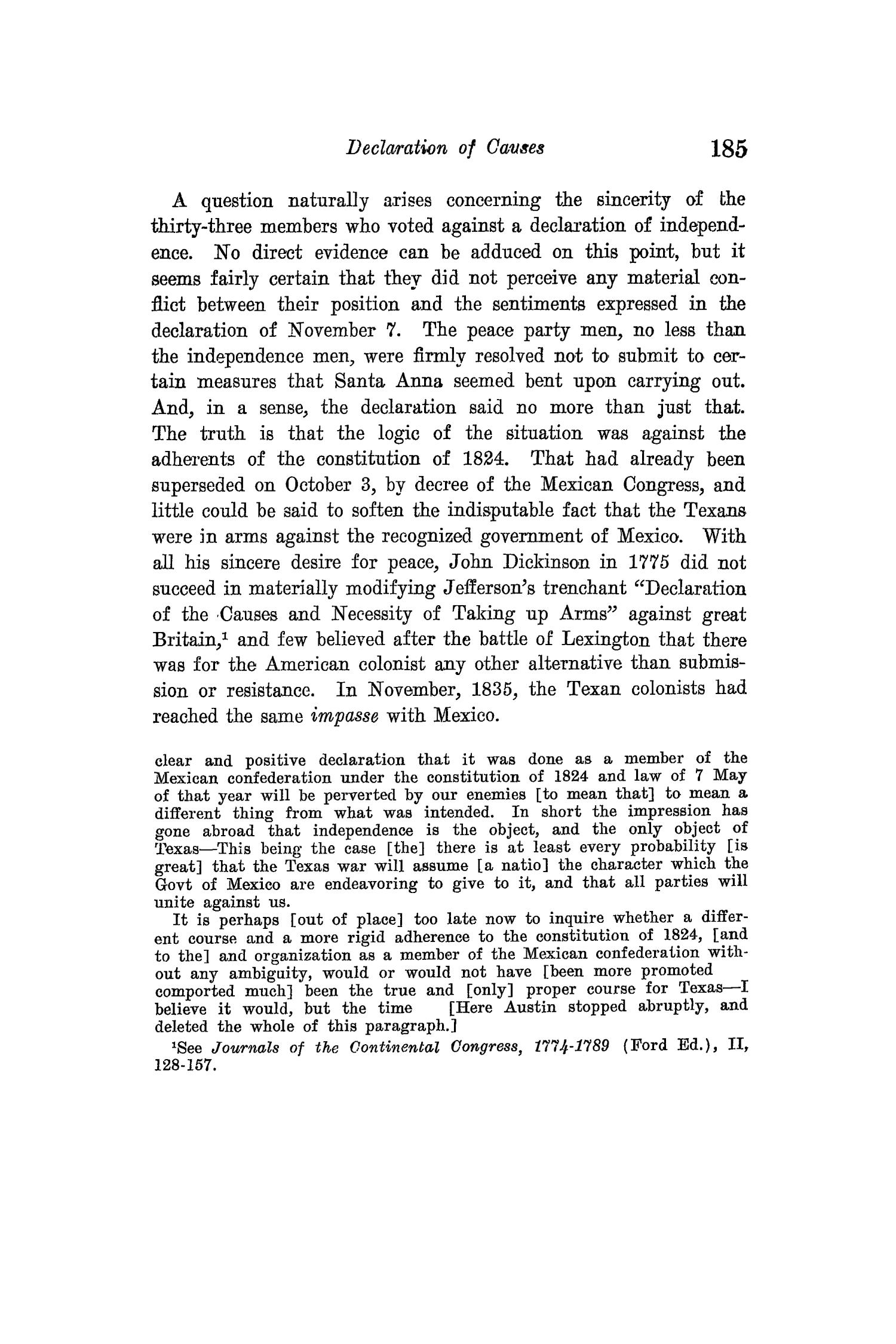 The Quarterly of the Texas State Historical Association, Volume 15, July 1911 - April, 1912                                                                                                      185
