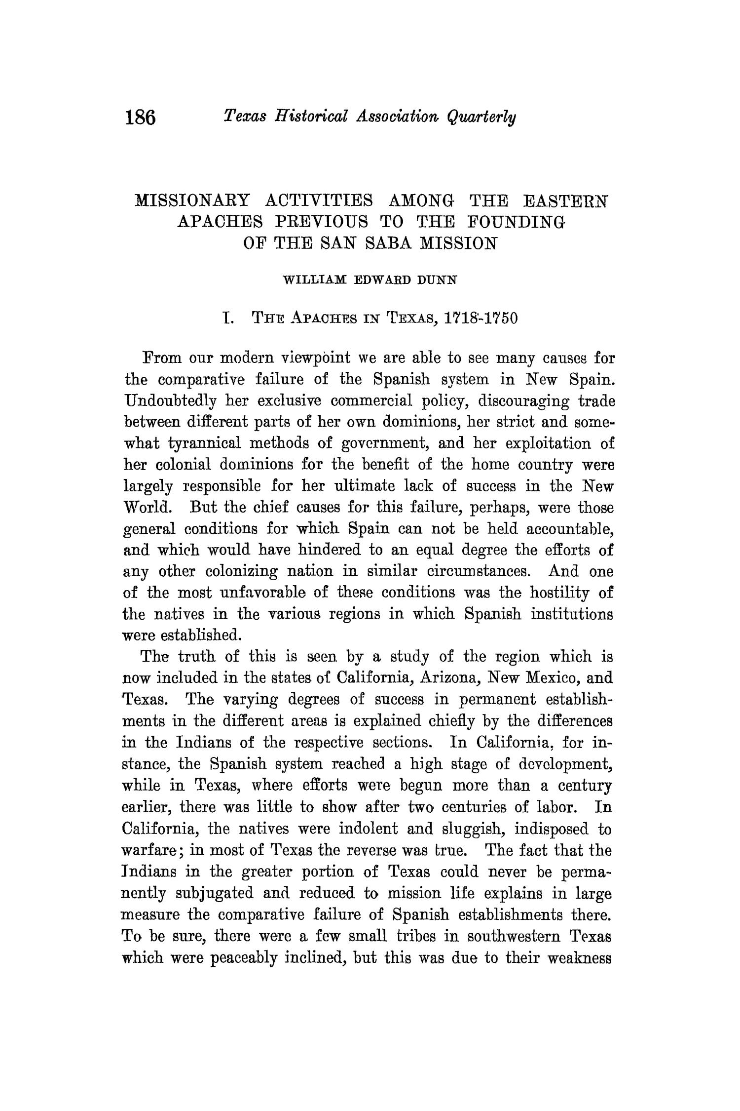 The Quarterly of the Texas State Historical Association, Volume 15, July 1911 - April, 1912                                                                                                      186