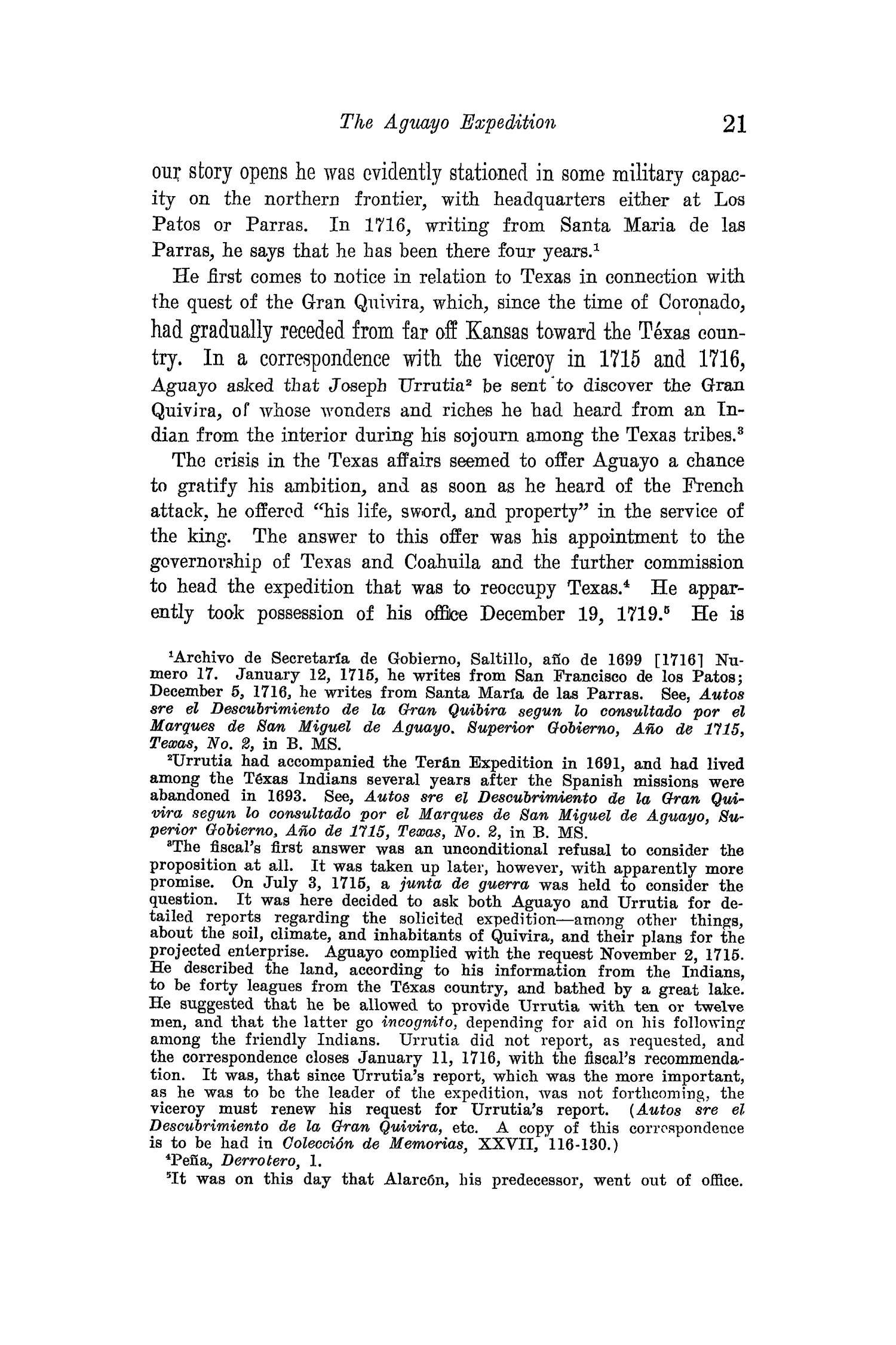 The Quarterly of the Texas State Historical Association, Volume 15, July 1911 - April, 1912                                                                                                      21
