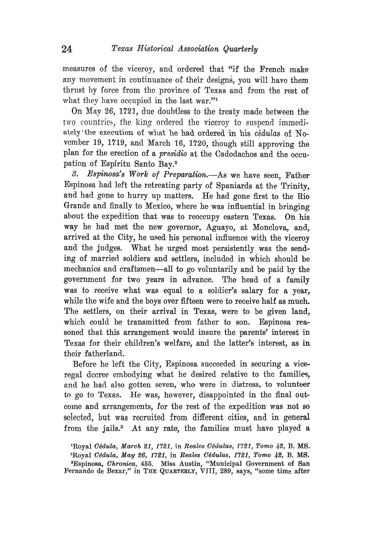 The Quarterly of the Texas State Historical Association, Volume 15, July 1911 - April, 1912                                                                                                      24