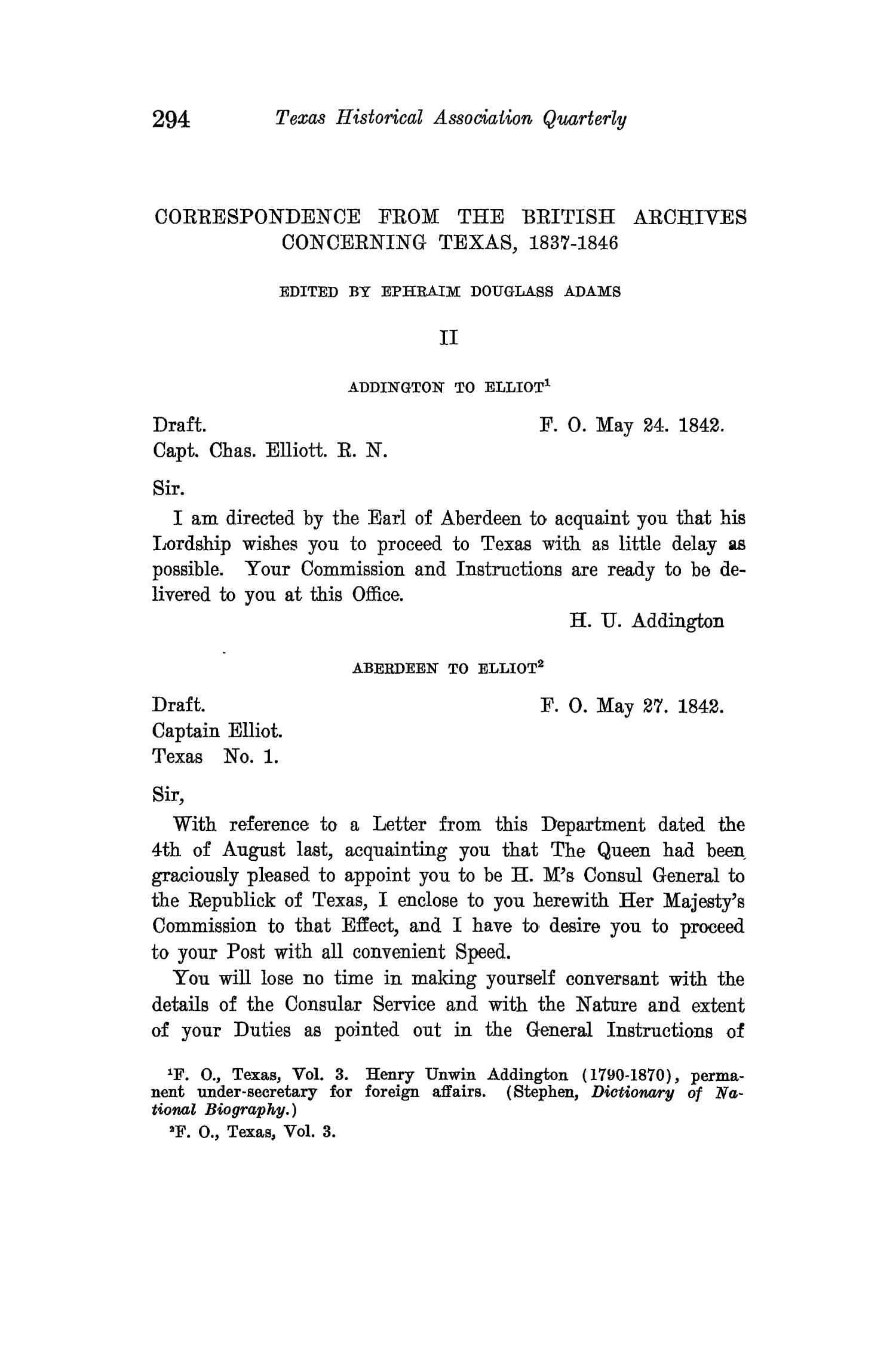 The Quarterly of the Texas State Historical Association, Volume 15, July 1911 - April, 1912                                                                                                      294