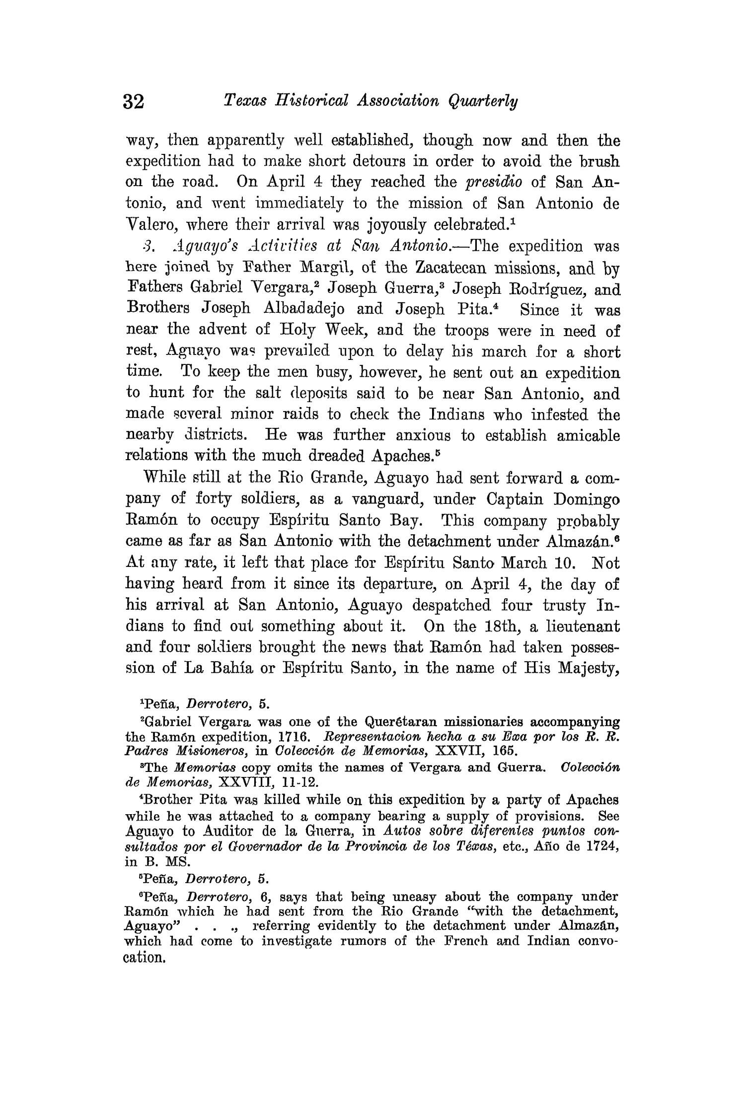 The Quarterly of the Texas State Historical Association, Volume 15, July 1911 - April, 1912                                                                                                      32