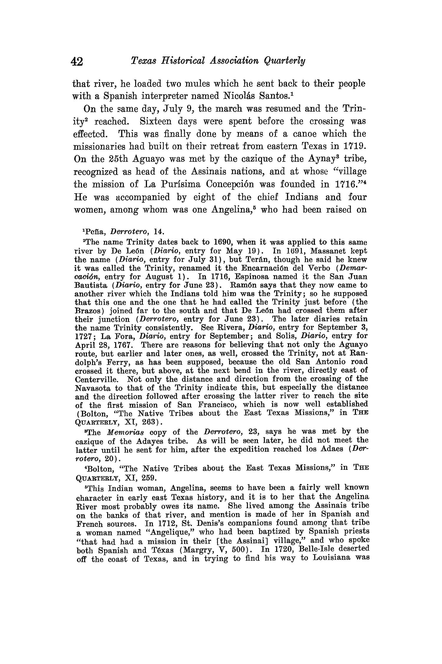 The Quarterly of the Texas State Historical Association, Volume 15, July 1911 - April, 1912                                                                                                      42