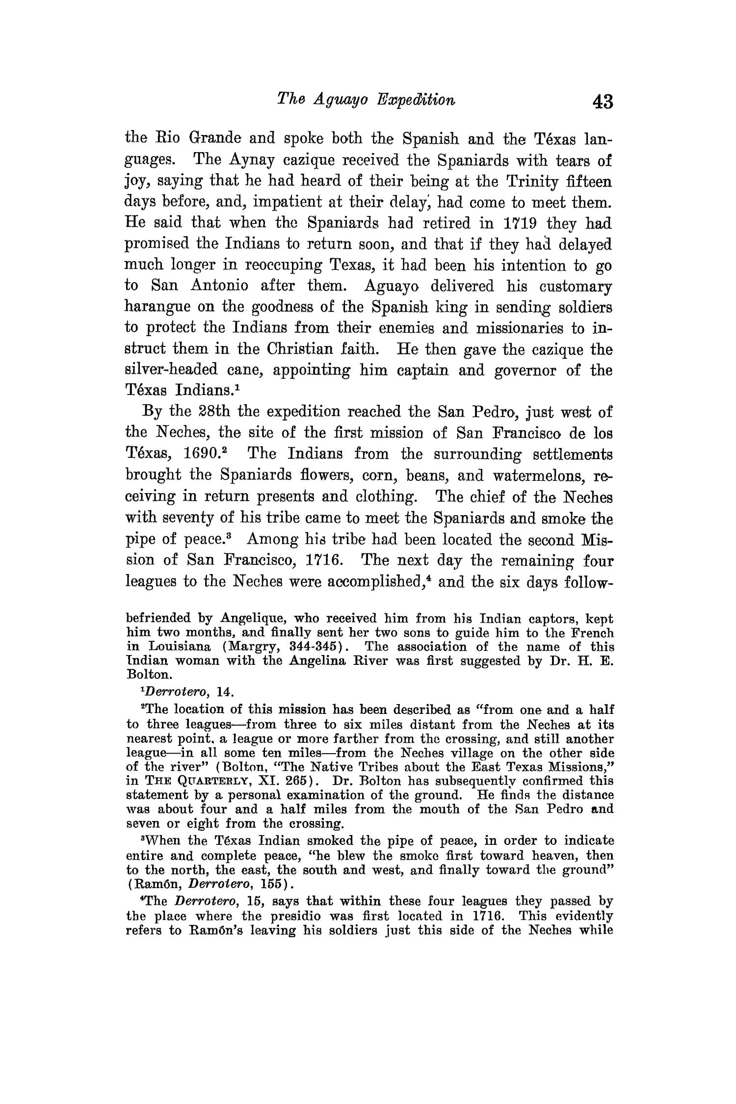The Quarterly of the Texas State Historical Association, Volume 15, July 1911 - April, 1912                                                                                                      43