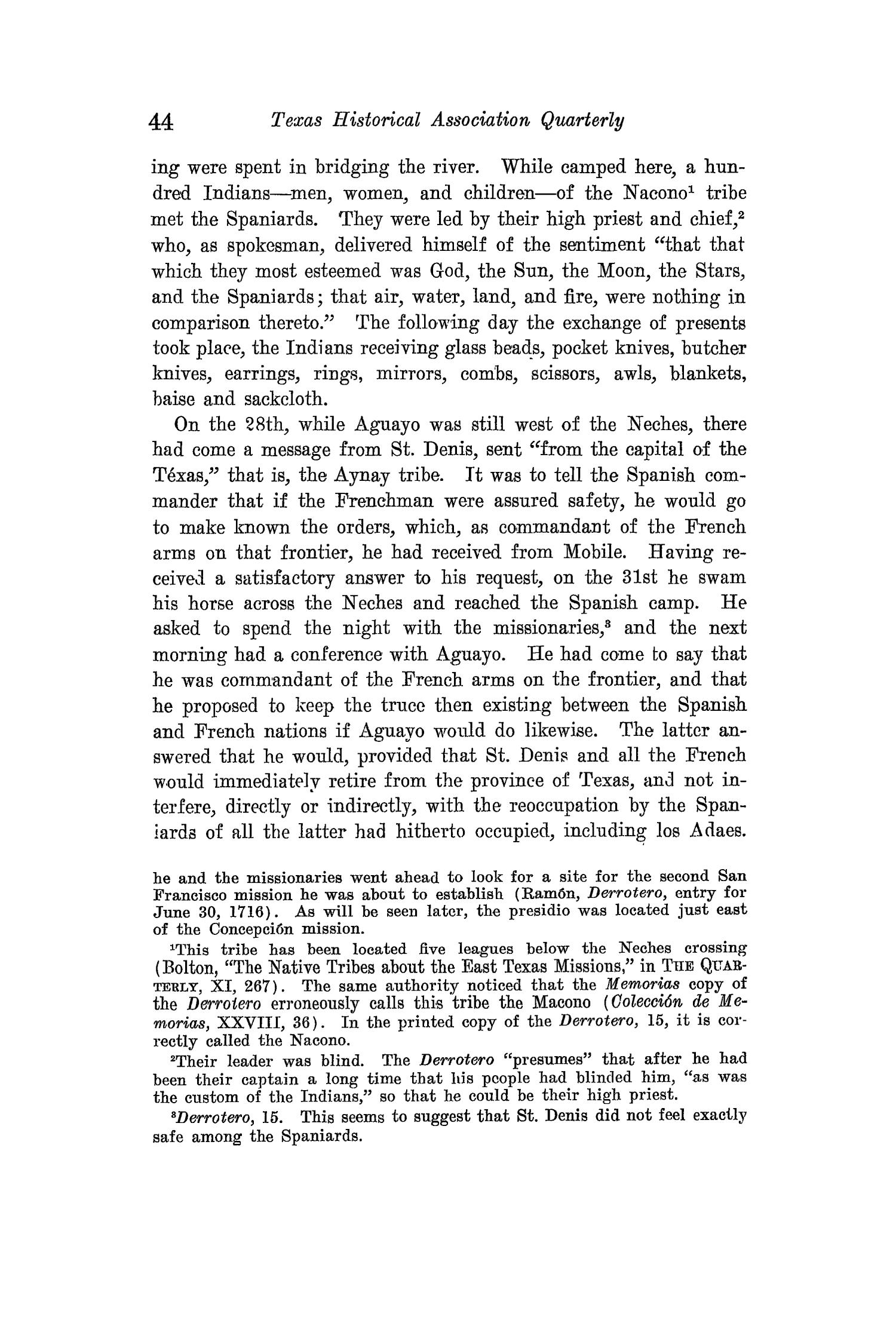 The Quarterly of the Texas State Historical Association, Volume 15, July 1911 - April, 1912                                                                                                      44