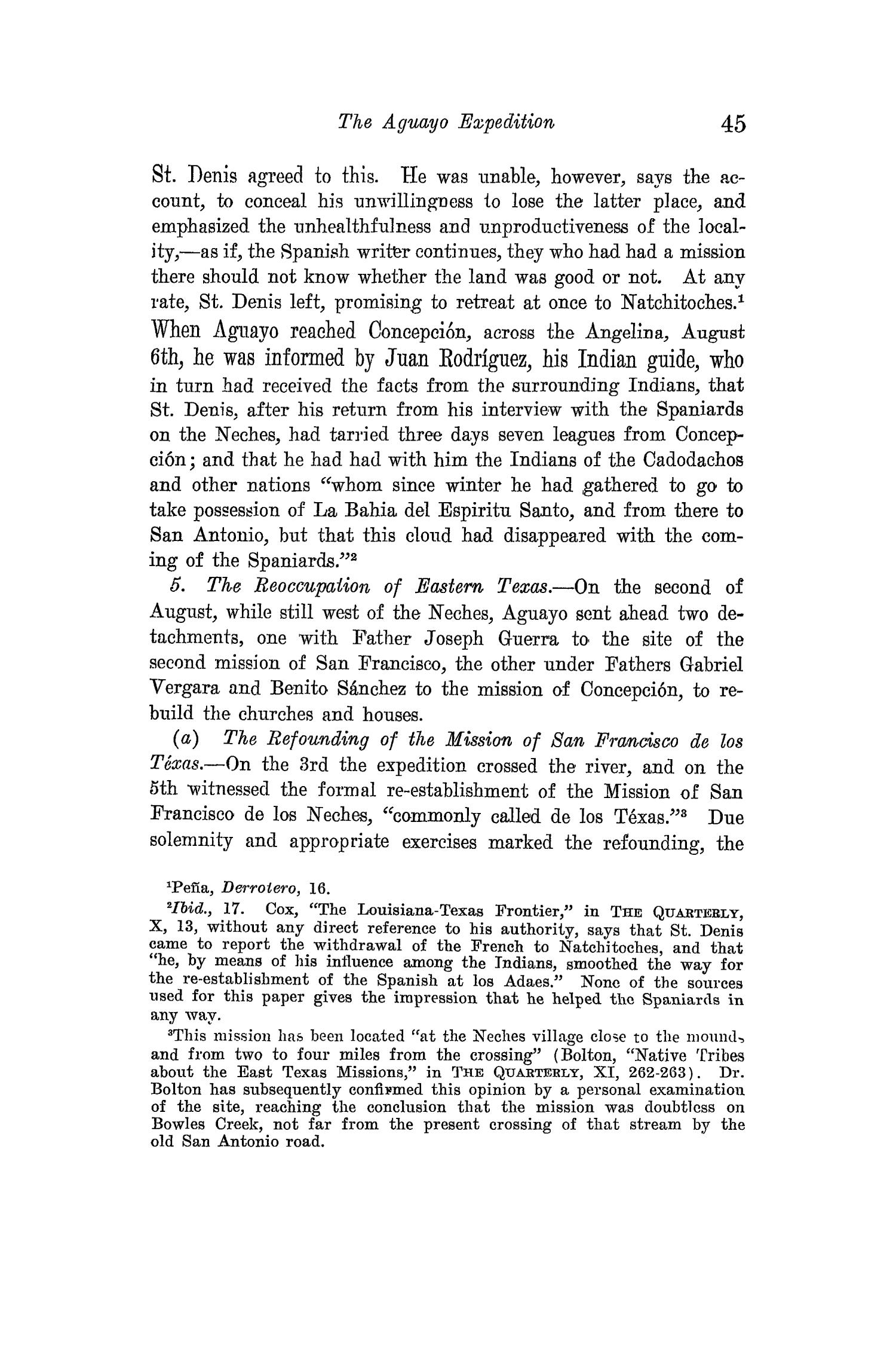 The Quarterly of the Texas State Historical Association, Volume 15, July 1911 - April, 1912                                                                                                      45