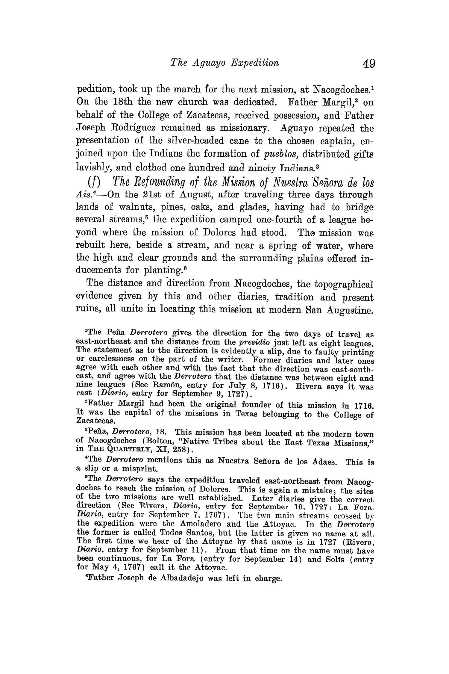 The Quarterly of the Texas State Historical Association, Volume 15, July 1911 - April, 1912                                                                                                      49