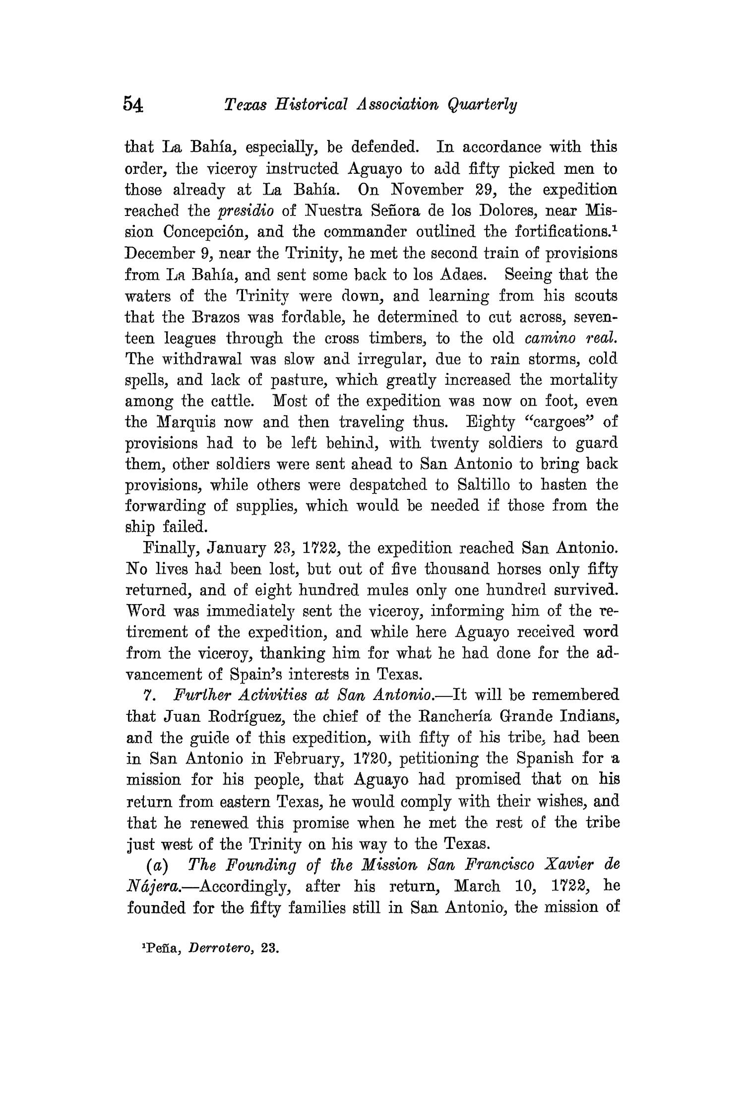 The Quarterly of the Texas State Historical Association, Volume 15, July 1911 - April, 1912                                                                                                      54
