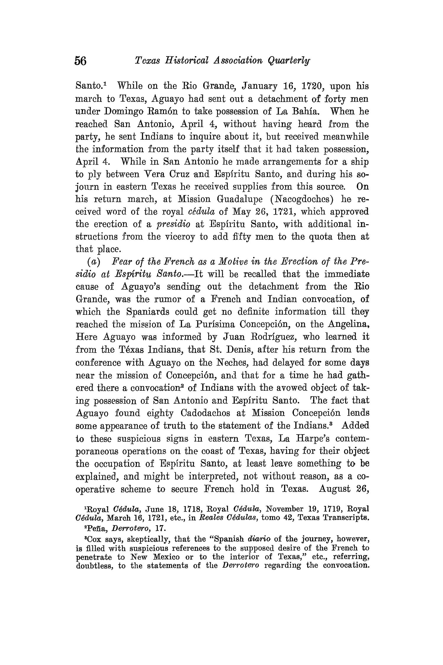 The Quarterly of the Texas State Historical Association, Volume 15, July 1911 - April, 1912                                                                                                      56