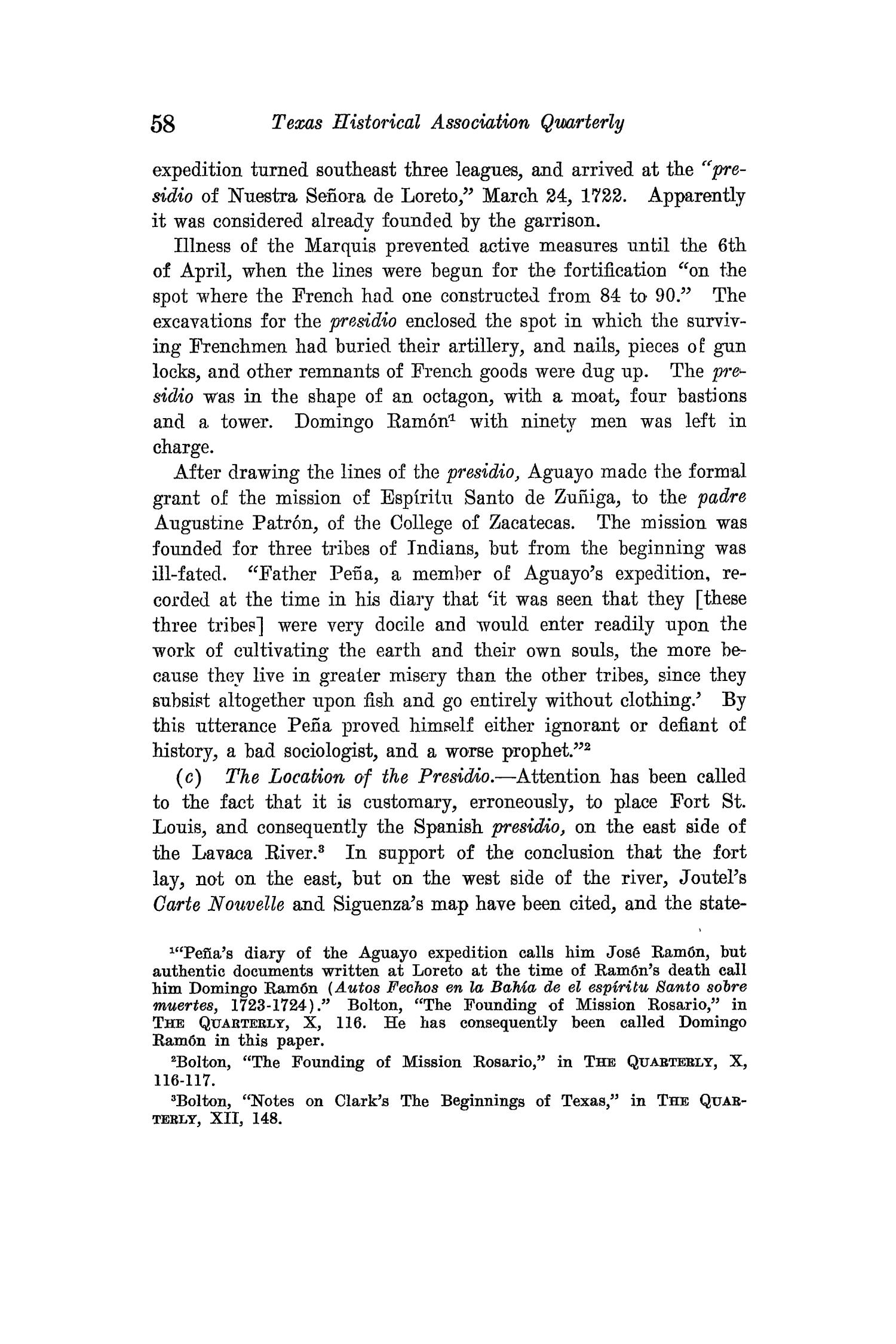 The Quarterly of the Texas State Historical Association, Volume 15, July 1911 - April, 1912                                                                                                      58