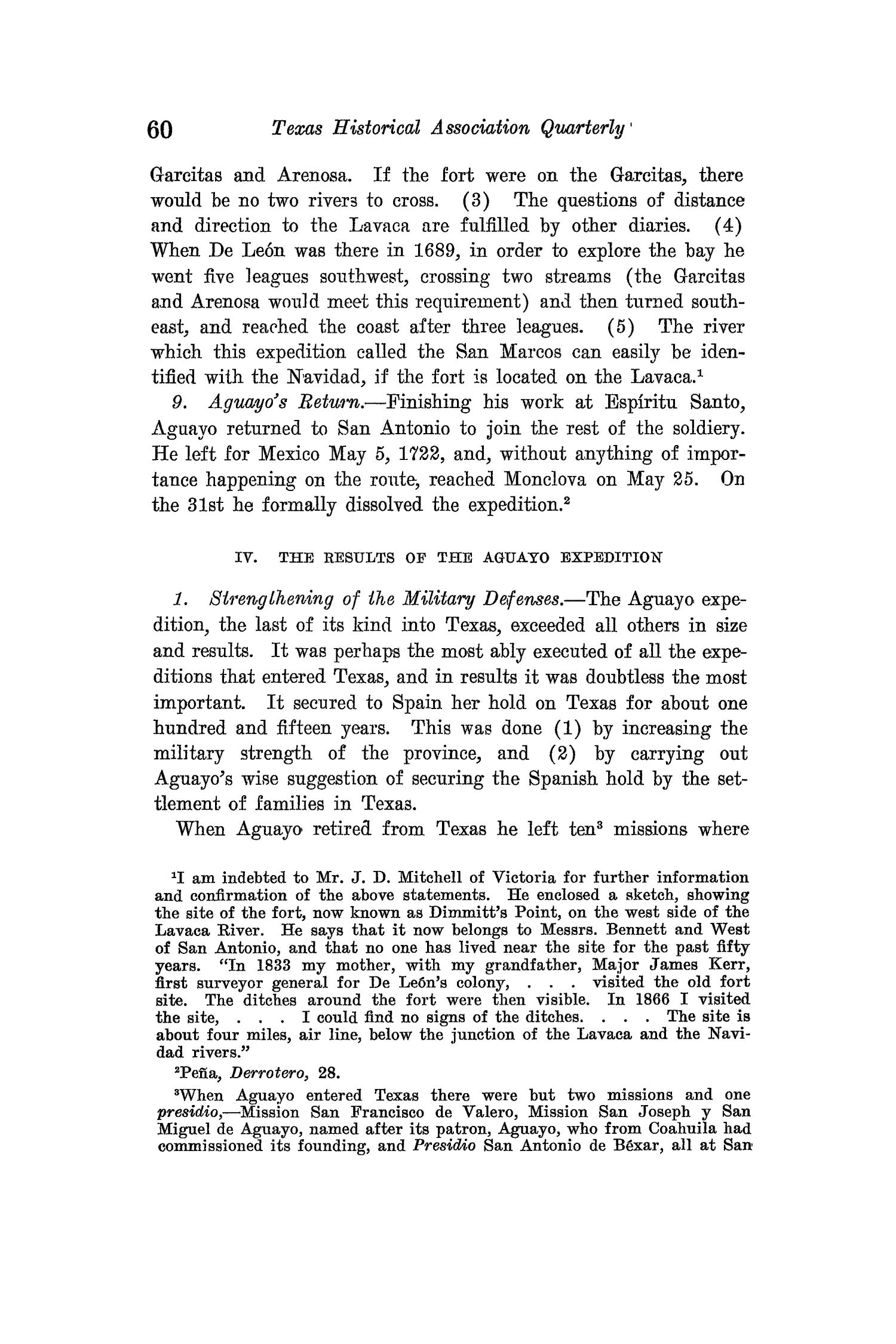 The Quarterly of the Texas State Historical Association, Volume 15, July 1911 - April, 1912                                                                                                      60