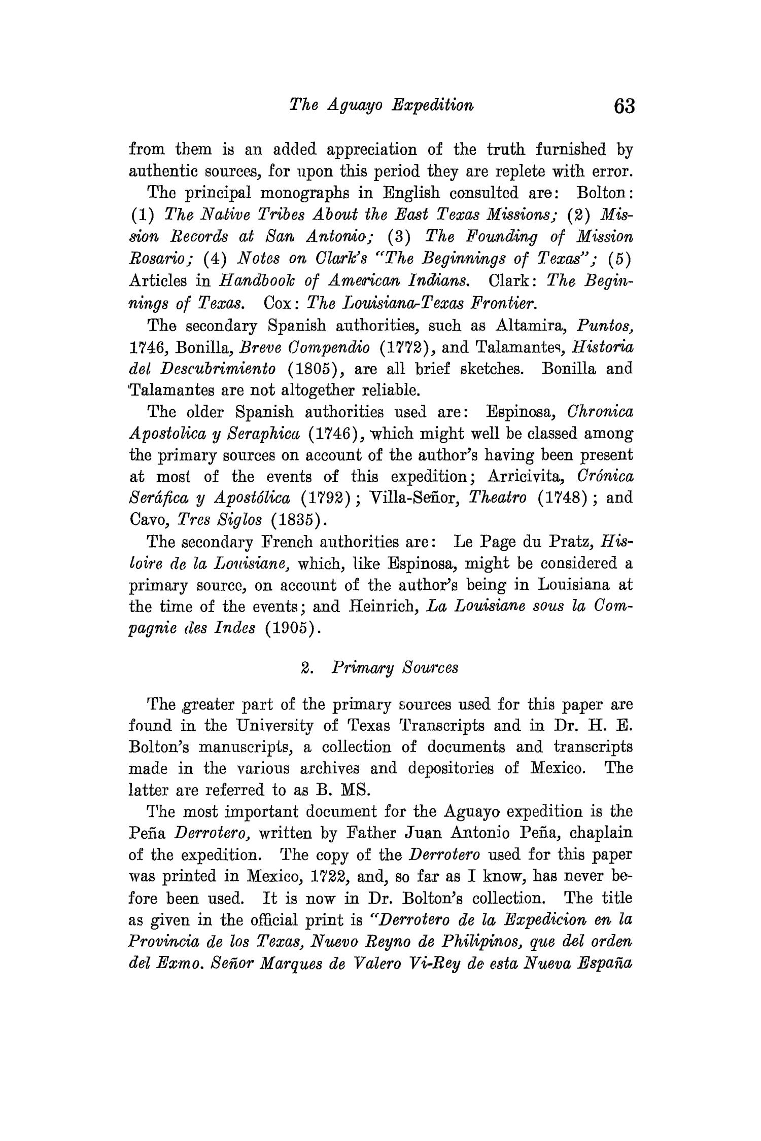 The Quarterly of the Texas State Historical Association, Volume 15, July 1911 - April, 1912                                                                                                      63