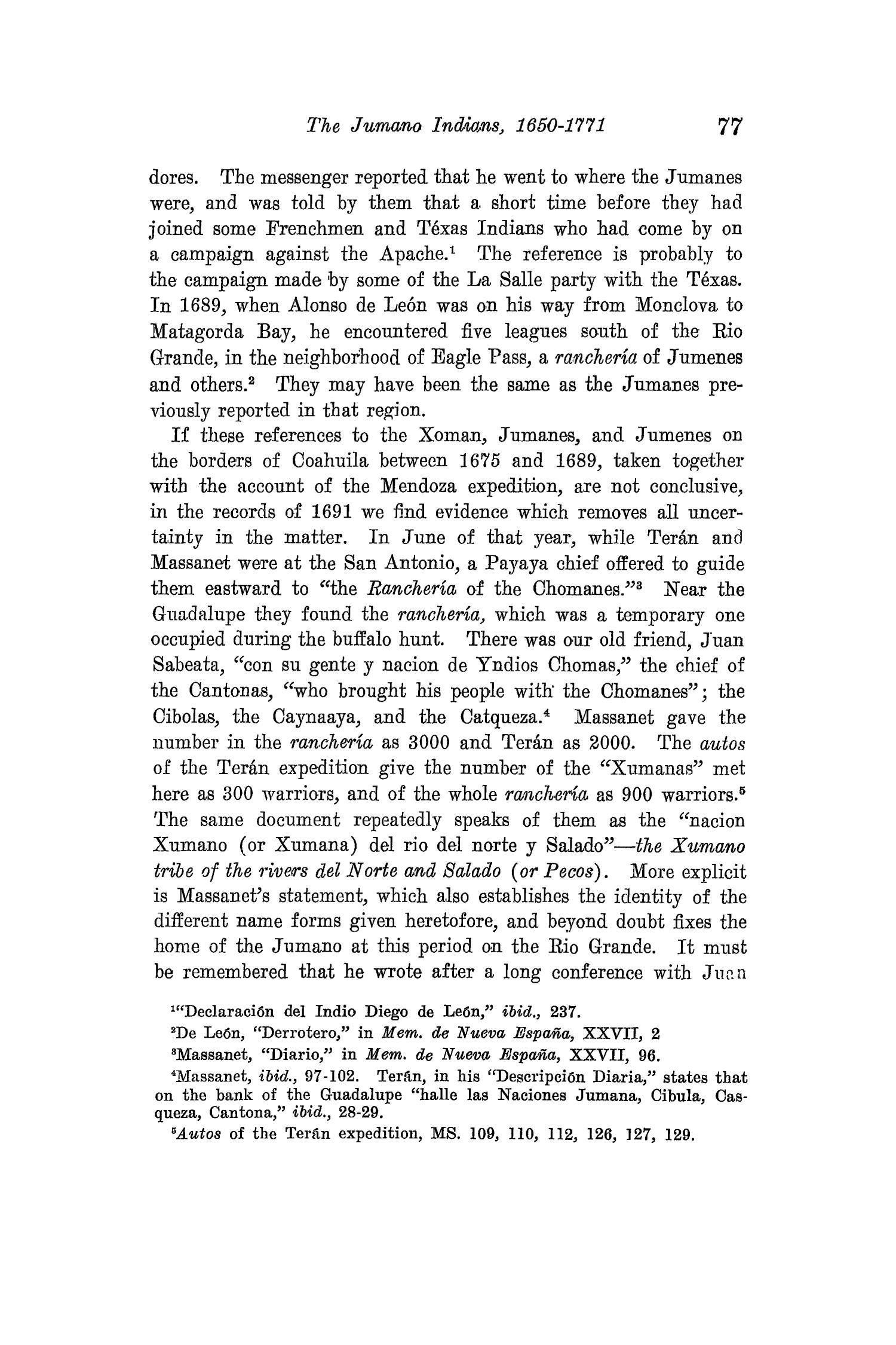 The Quarterly of the Texas State Historical Association, Volume 15, July 1911 - April, 1912                                                                                                      77