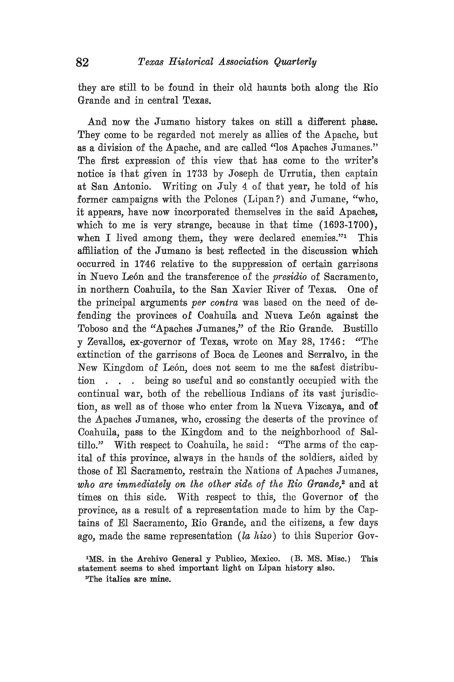 The Quarterly of the Texas State Historical Association, Volume 15, July 1911 - April, 1912                                                                                                      82