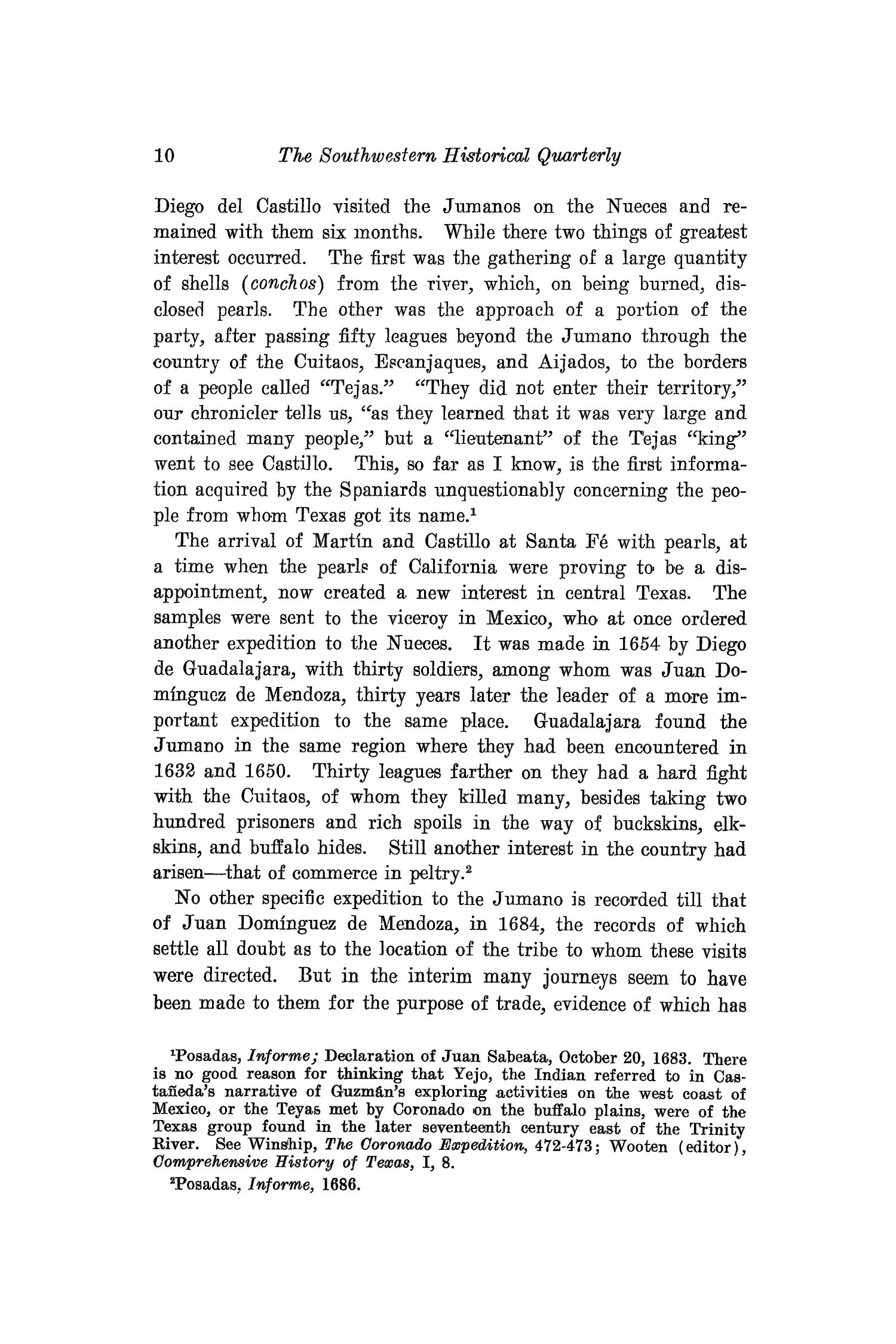 The Southwestern Historical Quarterly, Volume 16, July 1912 - April, 1913                                                                                                      10