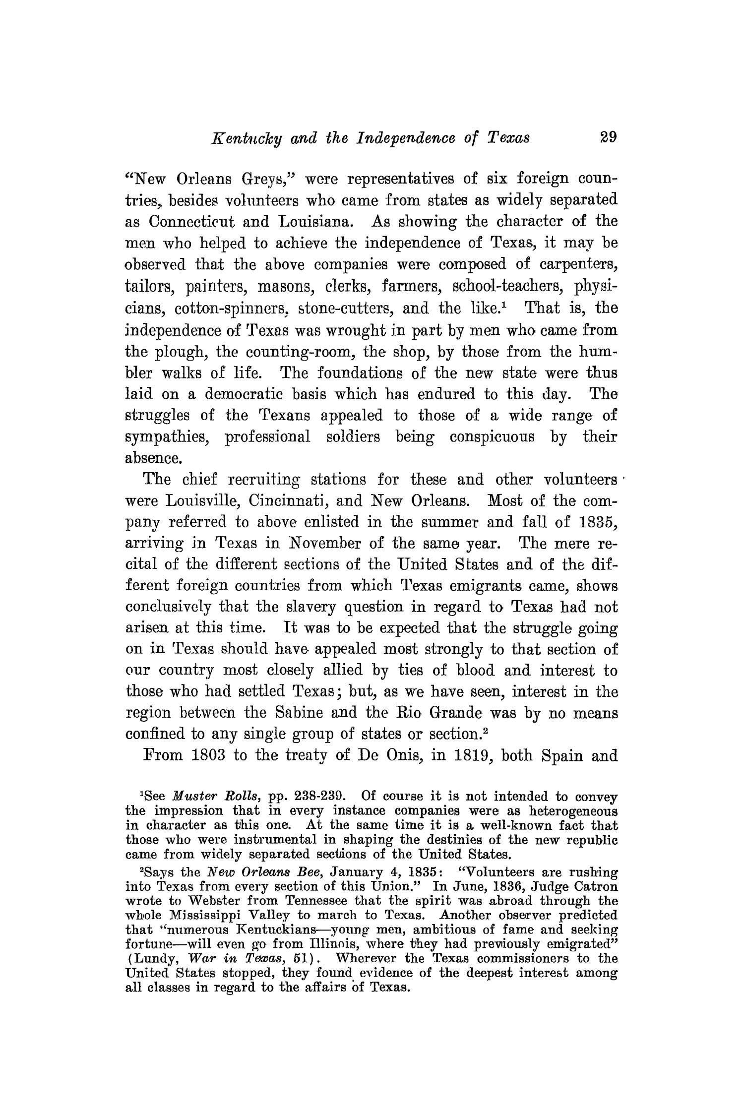 The Southwestern Historical Quarterly, Volume 16, July 1912 - April, 1913                                                                                                      29