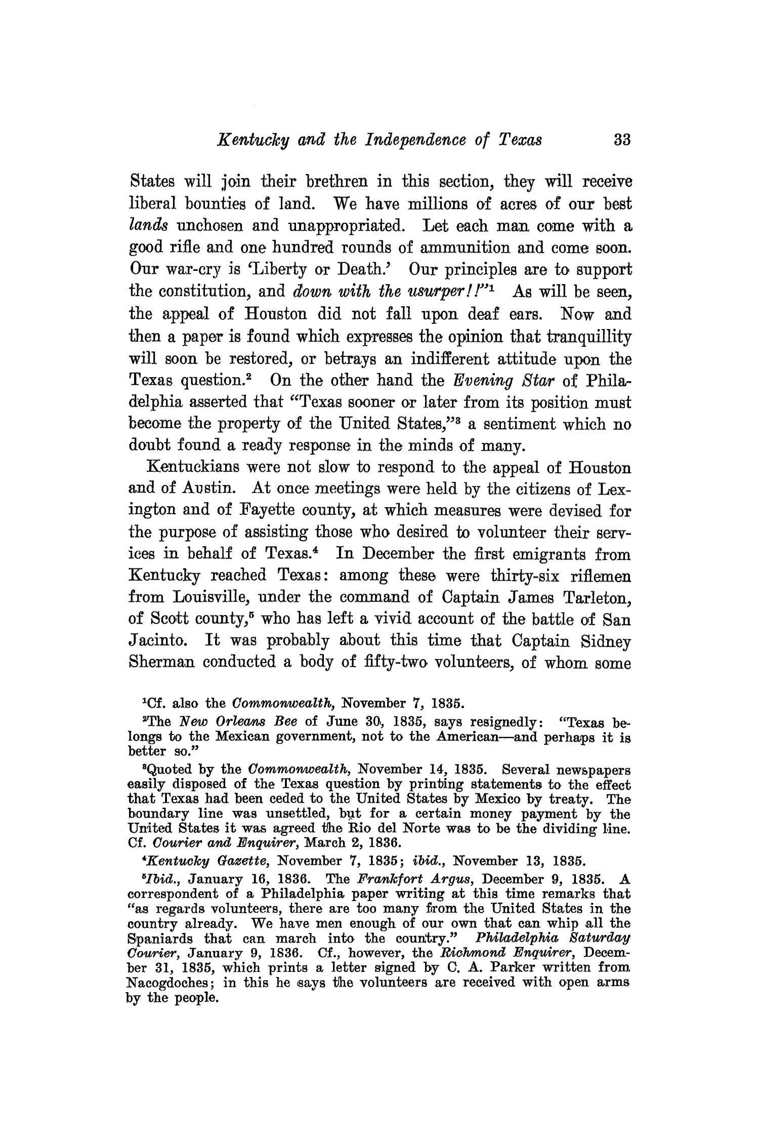 The Southwestern Historical Quarterly, Volume 16, July 1912 - April, 1913                                                                                                      33