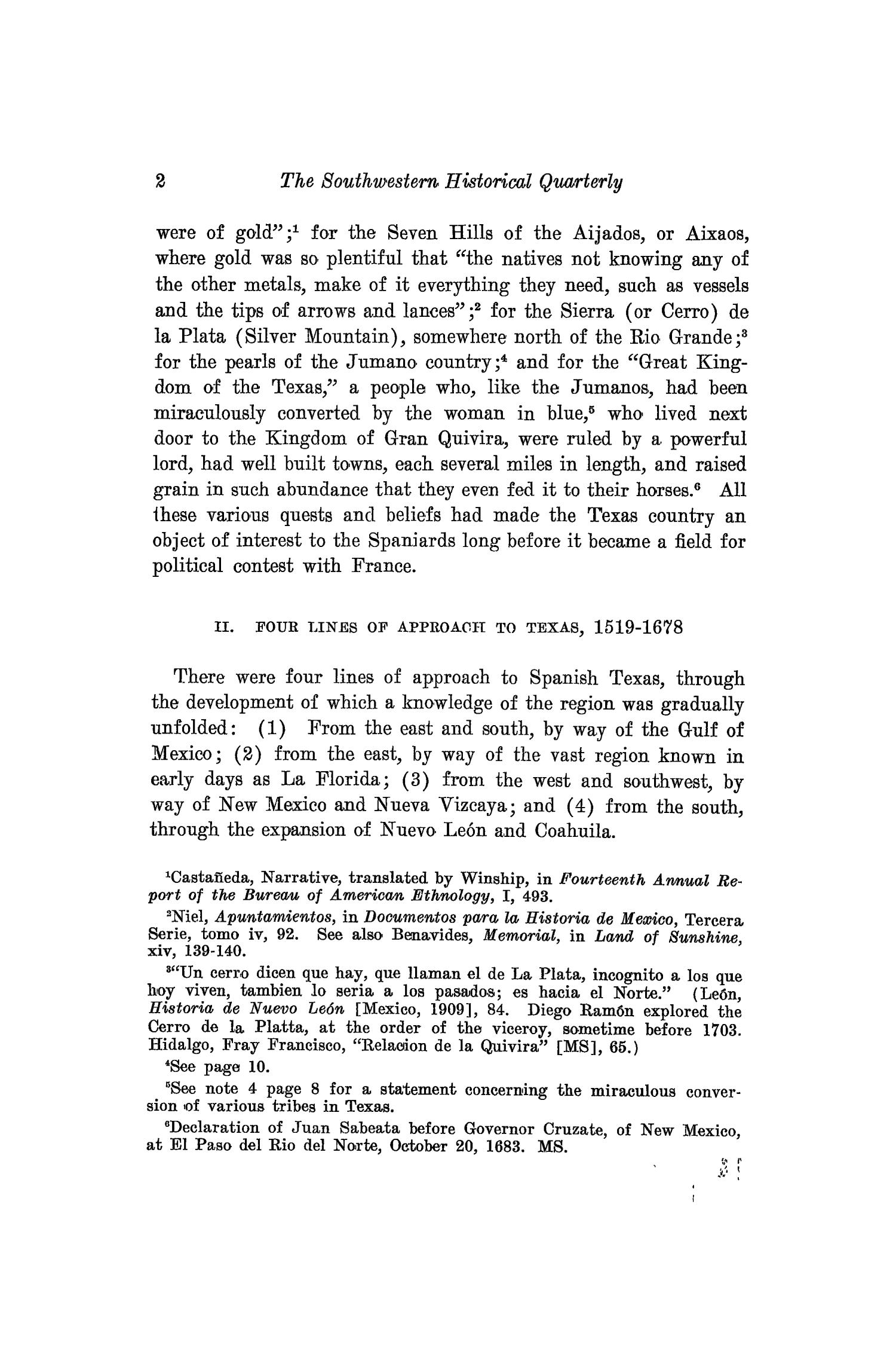 The Southwestern Historical Quarterly, Volume 16, July 1912 - April, 1913                                                                                                      2