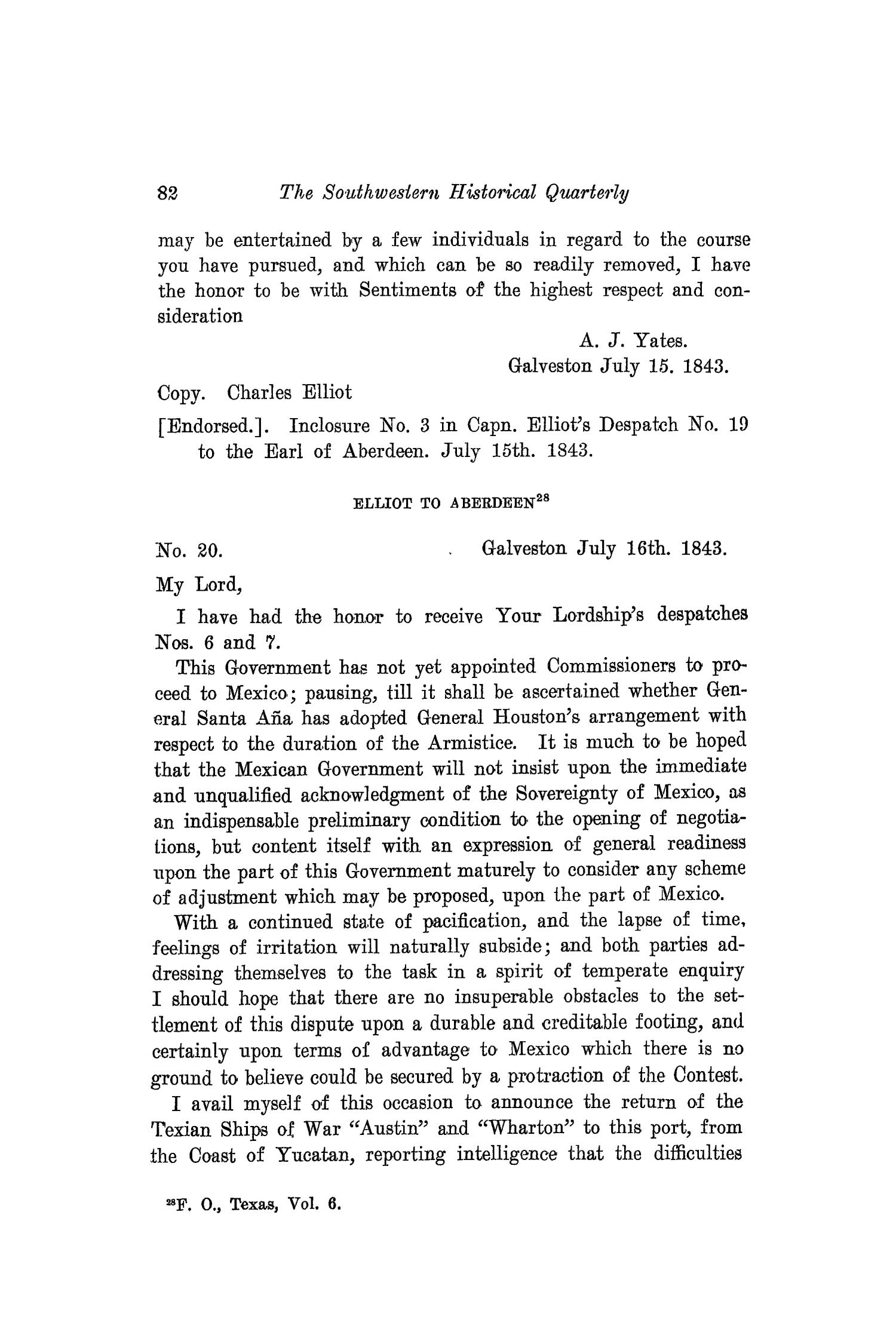 The Southwestern Historical Quarterly, Volume 17, July 1913 - April, 1914                                                                                                      82