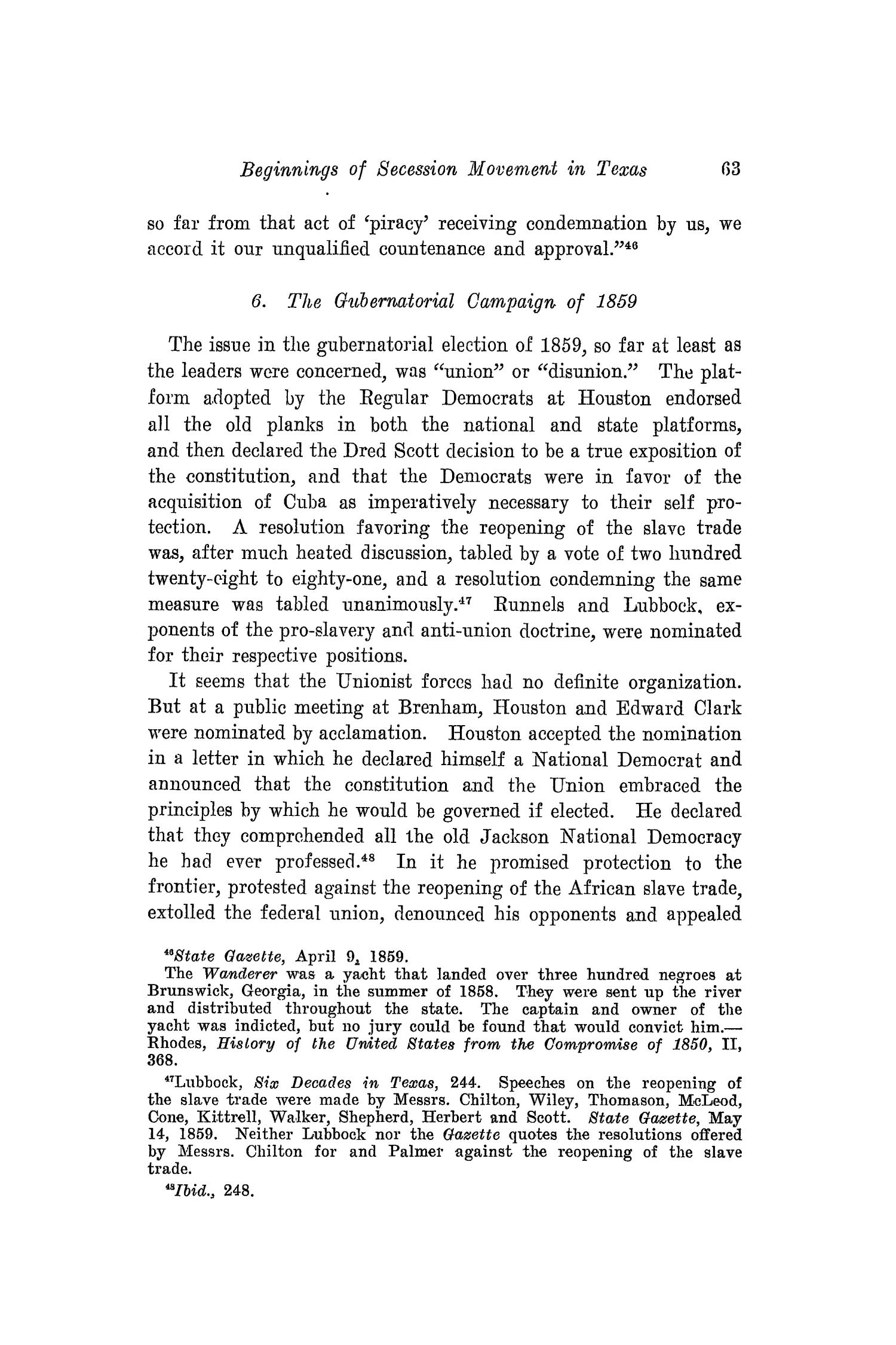 The Southwestern Historical Quarterly, Volume 18, July 1914 - April, 1915                                                                                                      63