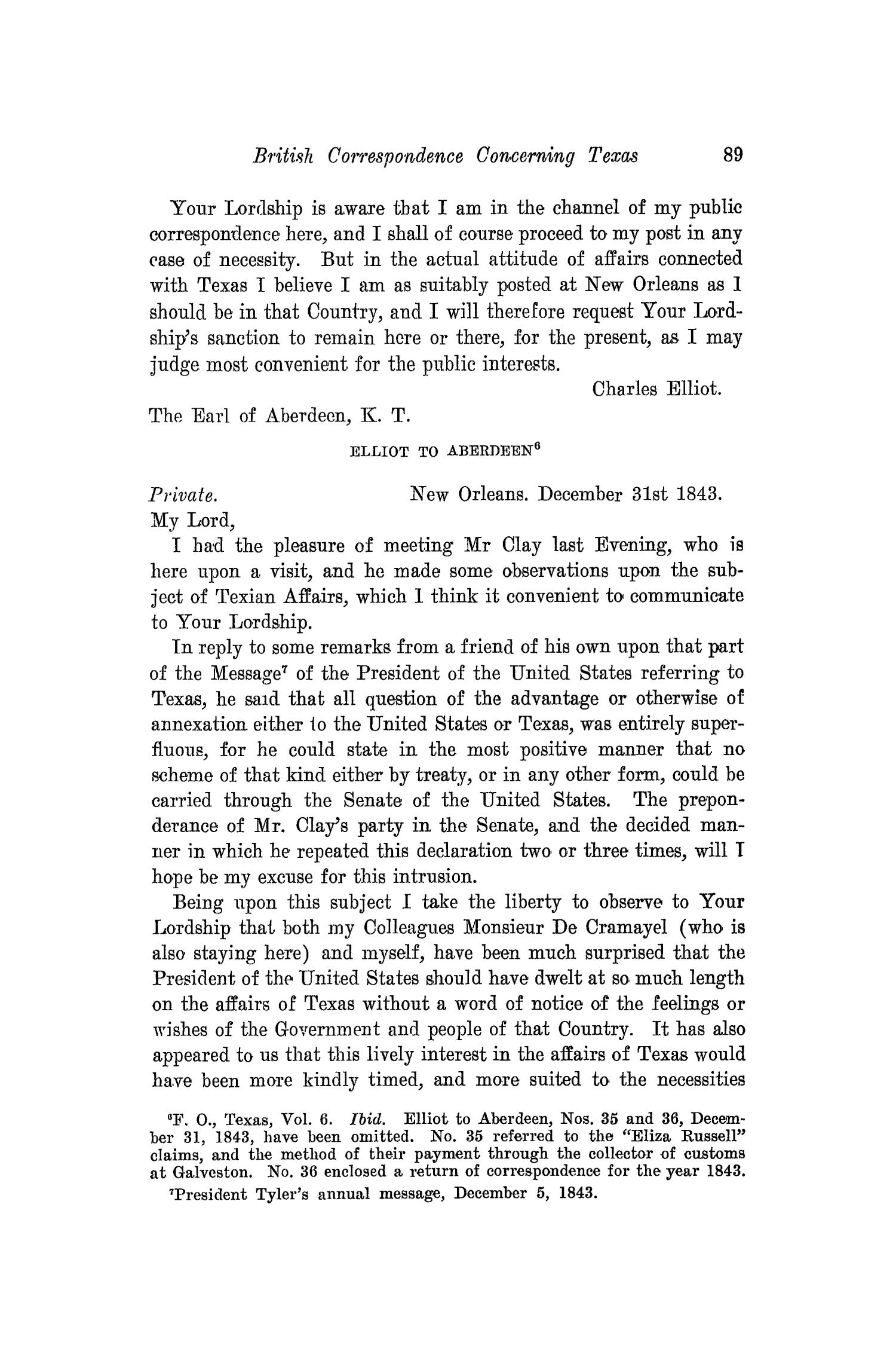 The Southwestern Historical Quarterly, Volume 18, July 1914 - April, 1915                                                                                                      89