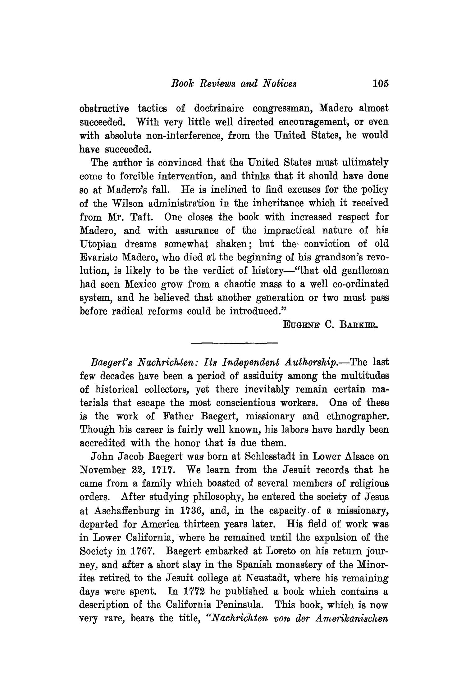 The Southwestern Historical Quarterly, Volume 19, July 1915 - April, 1916                                                                                                      105