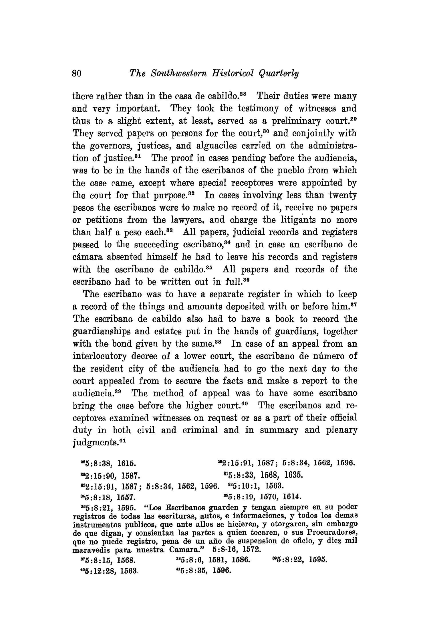 The Southwestern Historical Quarterly, Volume 19, July 1915 - April, 1916                                                                                                      80