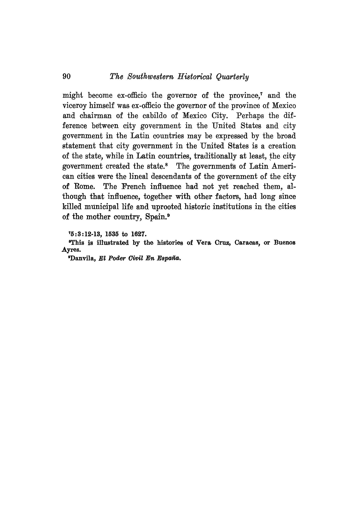 The Southwestern Historical Quarterly, Volume 19, July 1915 - April, 1916                                                                                                      90