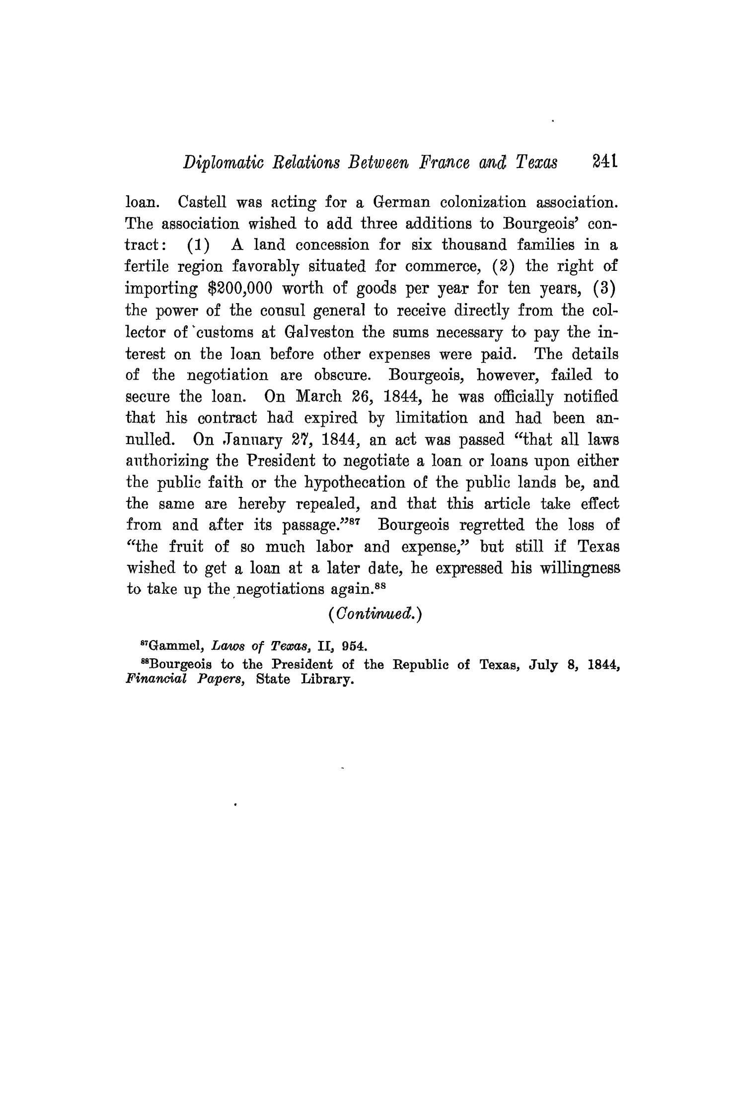 The Southwestern Historical Quarterly, Volume 20, July 1916 - April, 1917                                                                                                      241