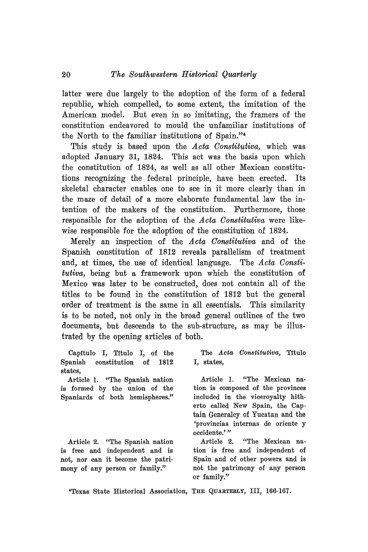 The Southwestern Historical Quarterly, Volume 20, July 1916 - April, 1917                                                                                                      20