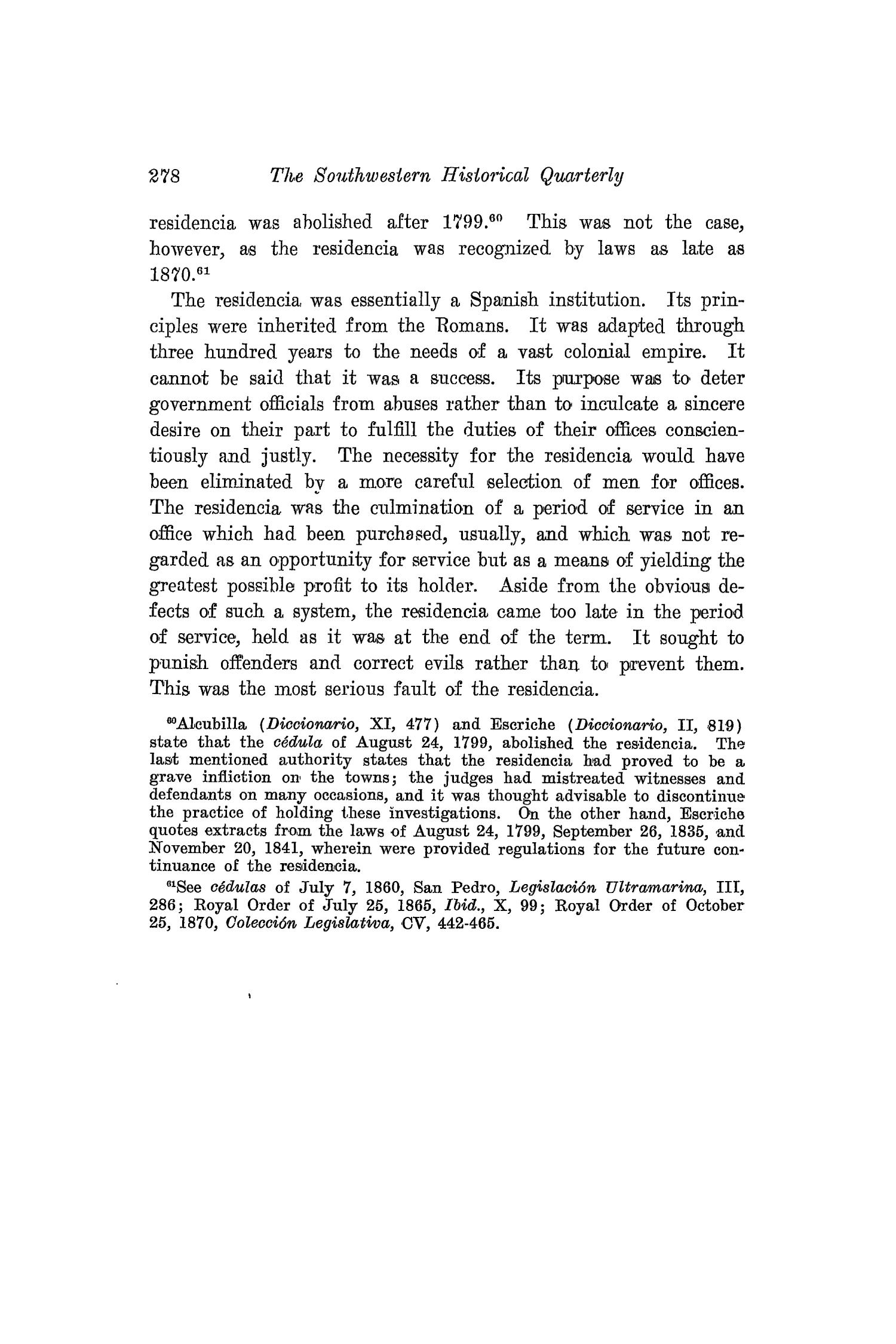 The Southwestern Historical Quarterly, Volume 21, July 1917 - April, 1918                                                                                                      278