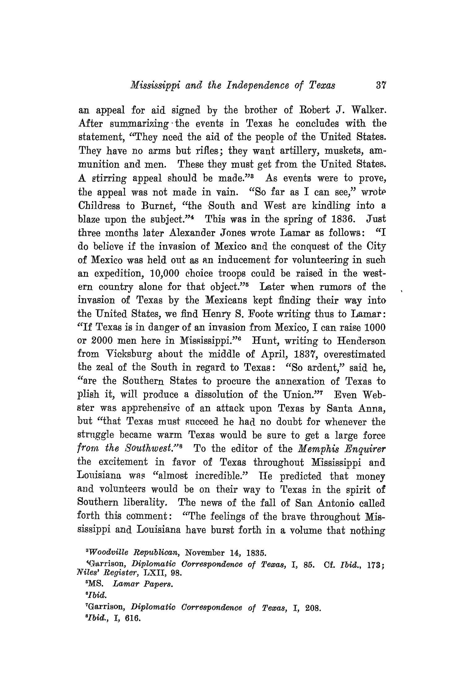 The Southwestern Historical Quarterly, Volume 21, July 1917 - April, 1918                                                                                                      37