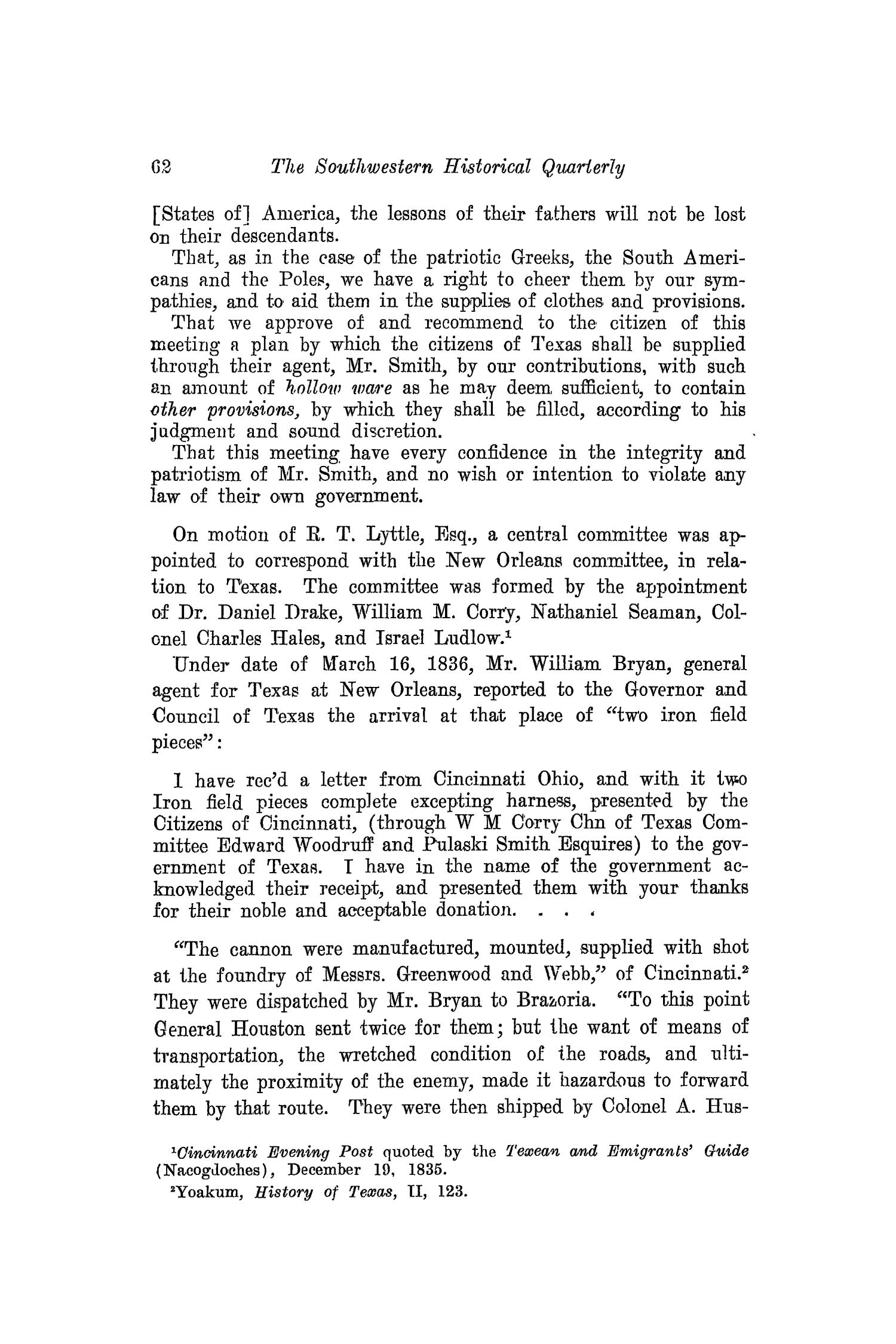 The Southwestern Historical Quarterly, Volume 21, July 1917 - April, 1918                                                                                                      62