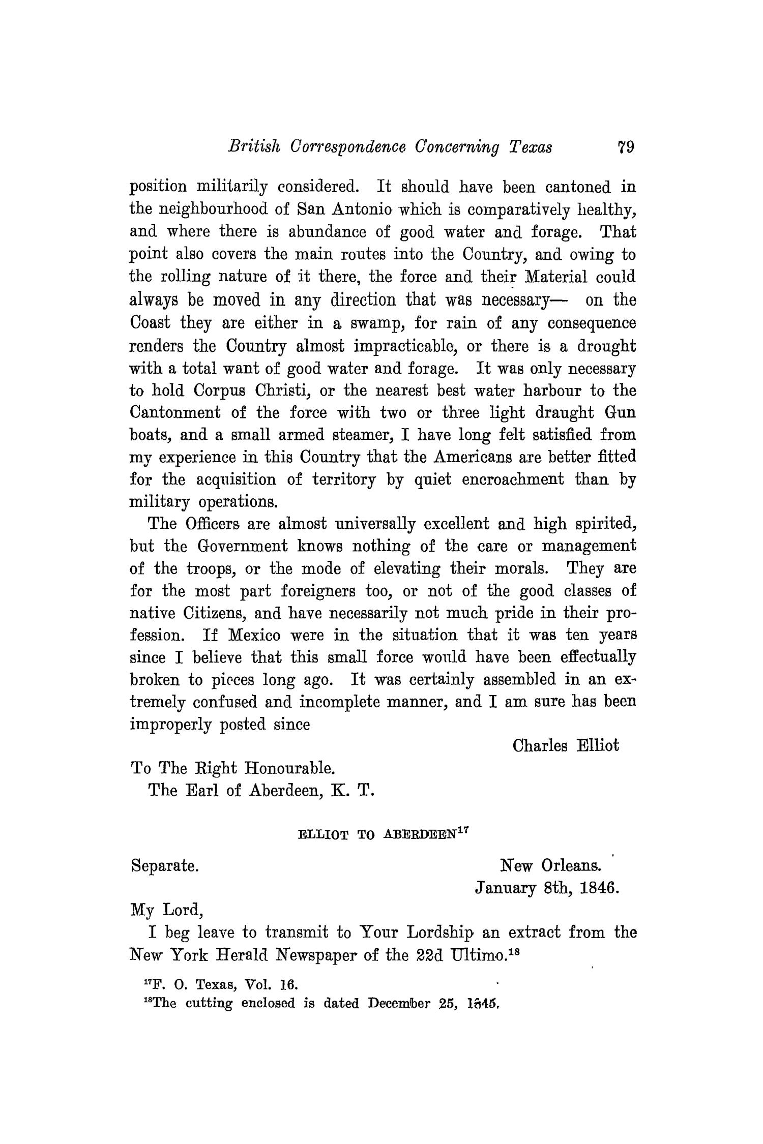 The Southwestern Historical Quarterly, Volume 21, July 1917 - April, 1918                                                                                                      79