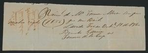 [Receipt #12, 1860]