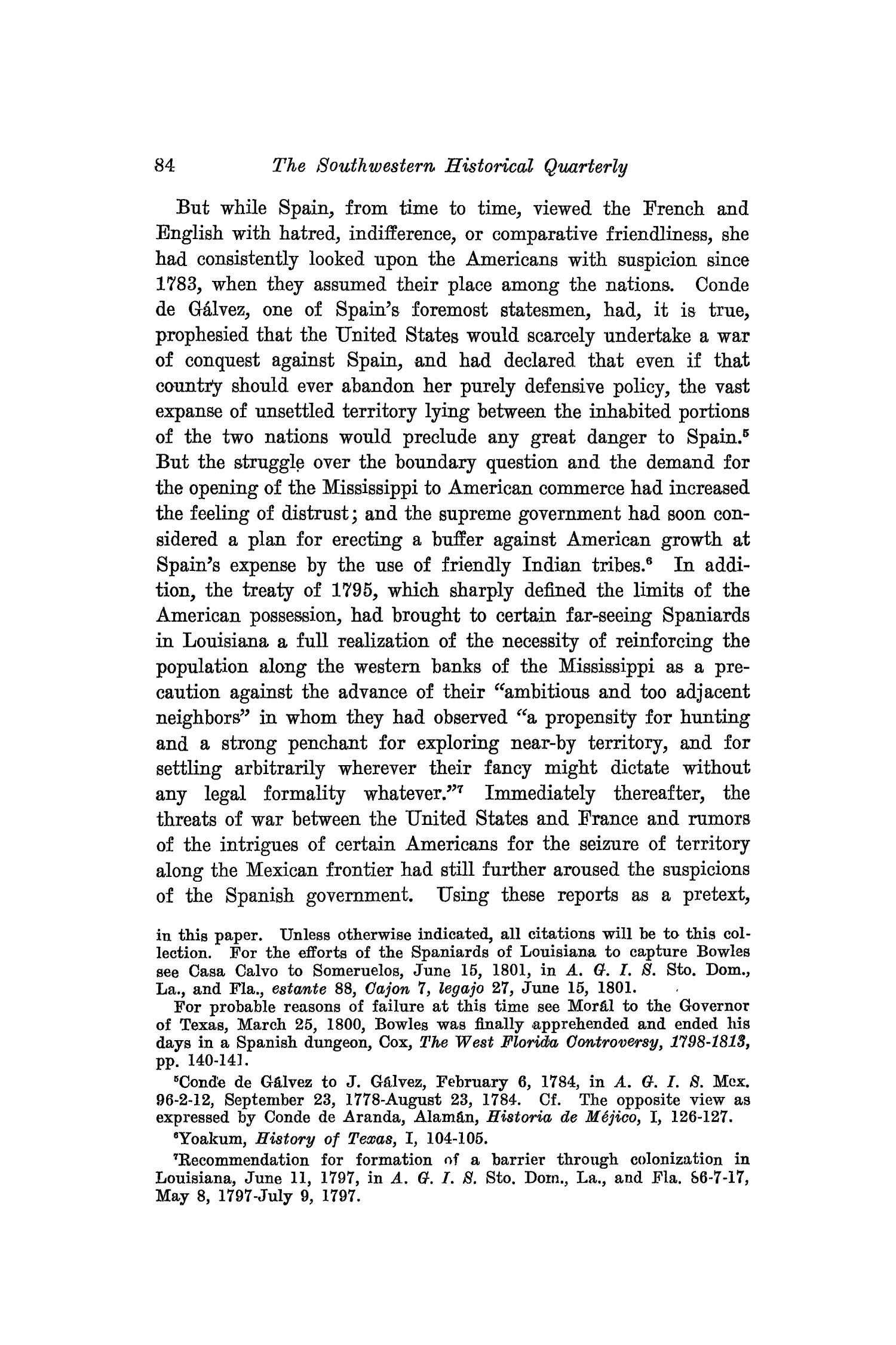 The Southwestern Historical Quarterly, Volume 25, July 1921 - April, 1922                                                                                                      84