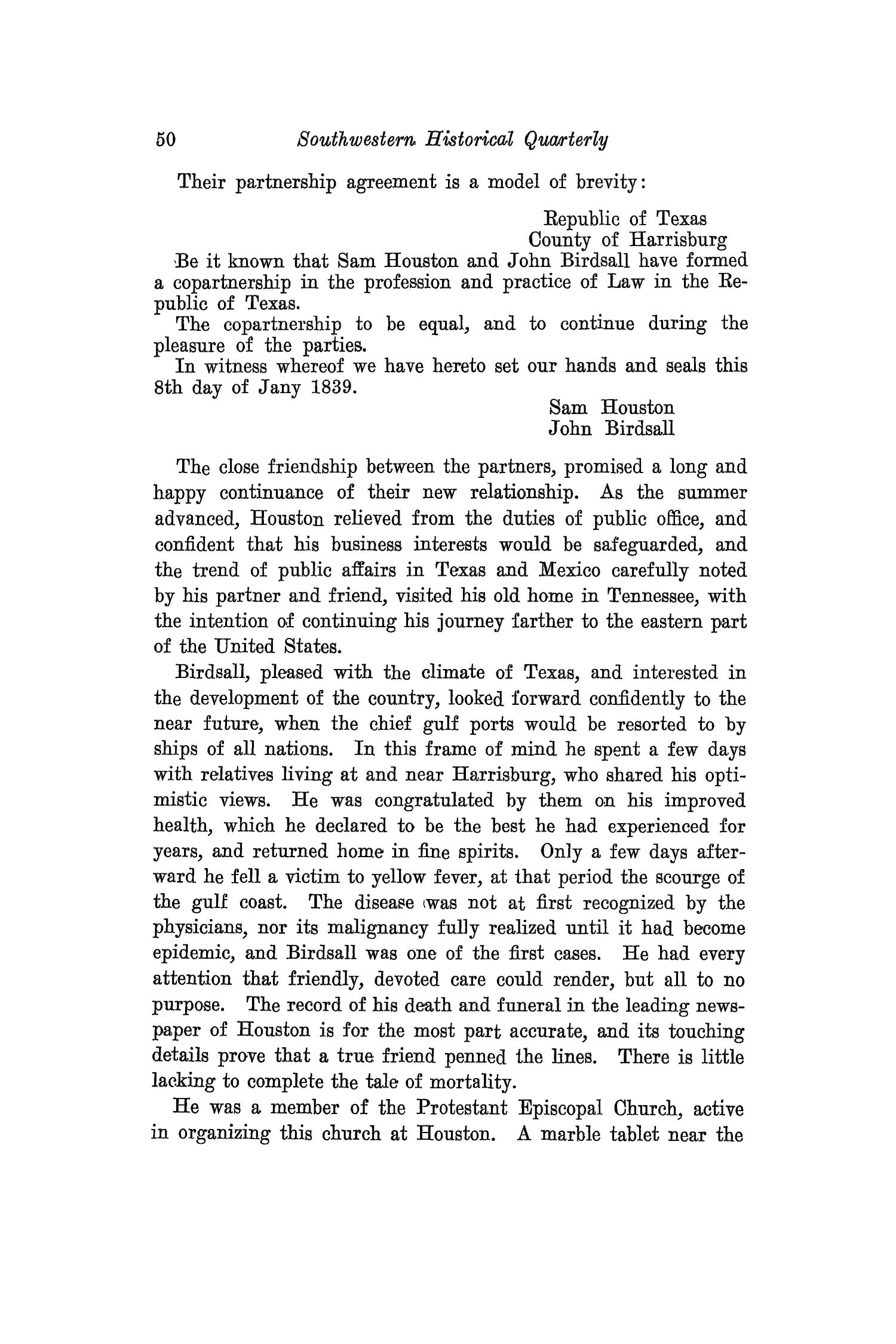 The Southwestern Historical Quarterly, Volume 26, July 1922 - April, 1923                                                                                                      50