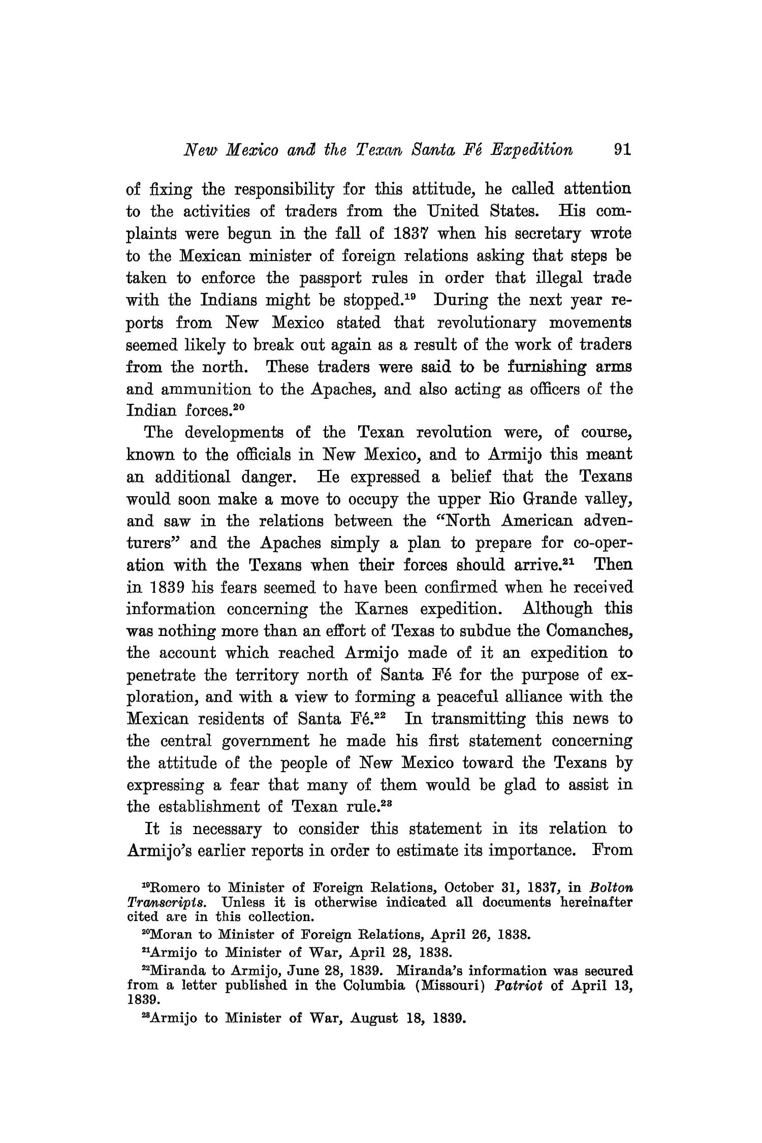 The Southwestern Historical Quarterly, Volume 27, July 1923 - April, 1924                                                                                                      91
