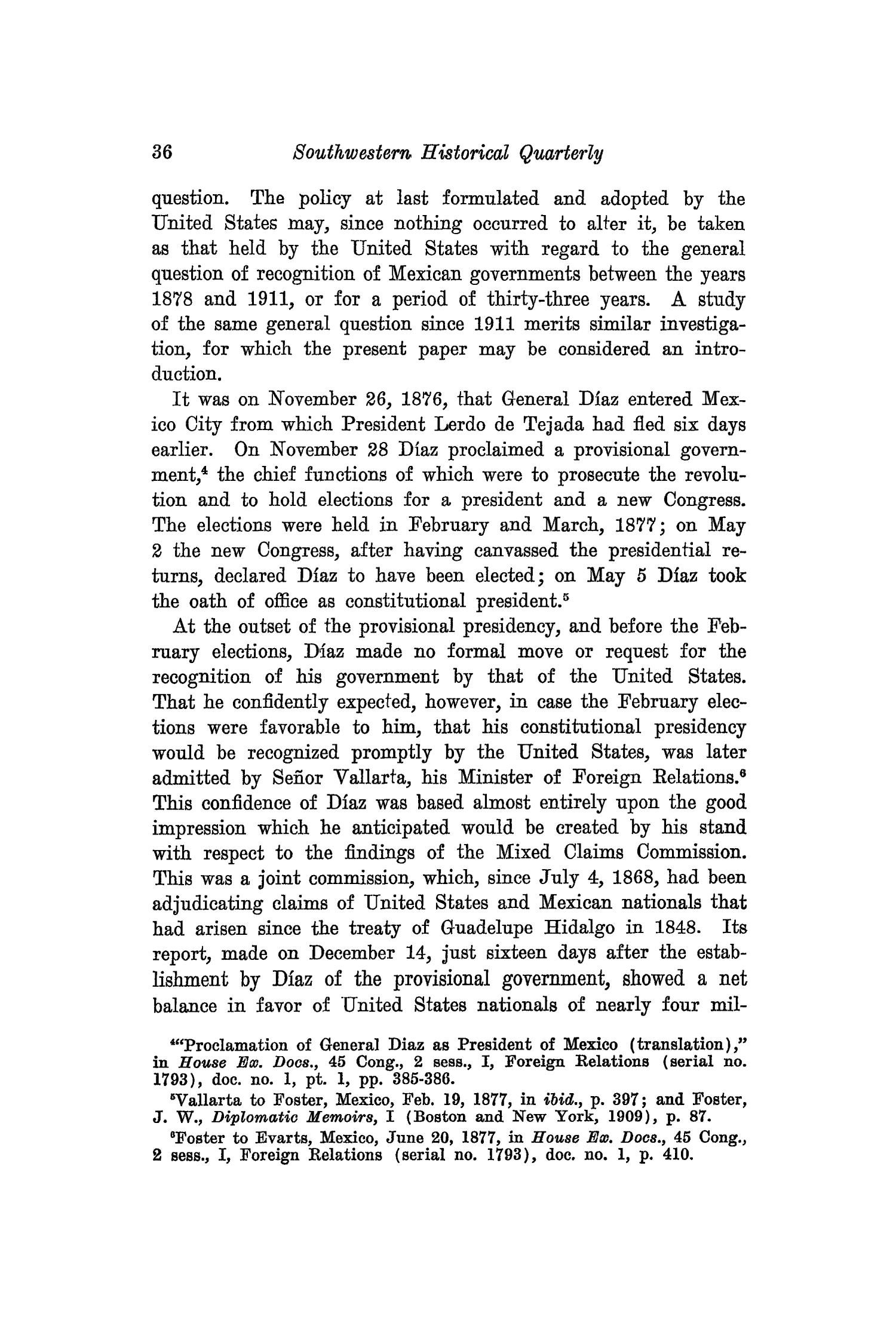 The Southwestern Historical Quarterly, Volume 28, July 1924 - April, 1925                                                                                                      36