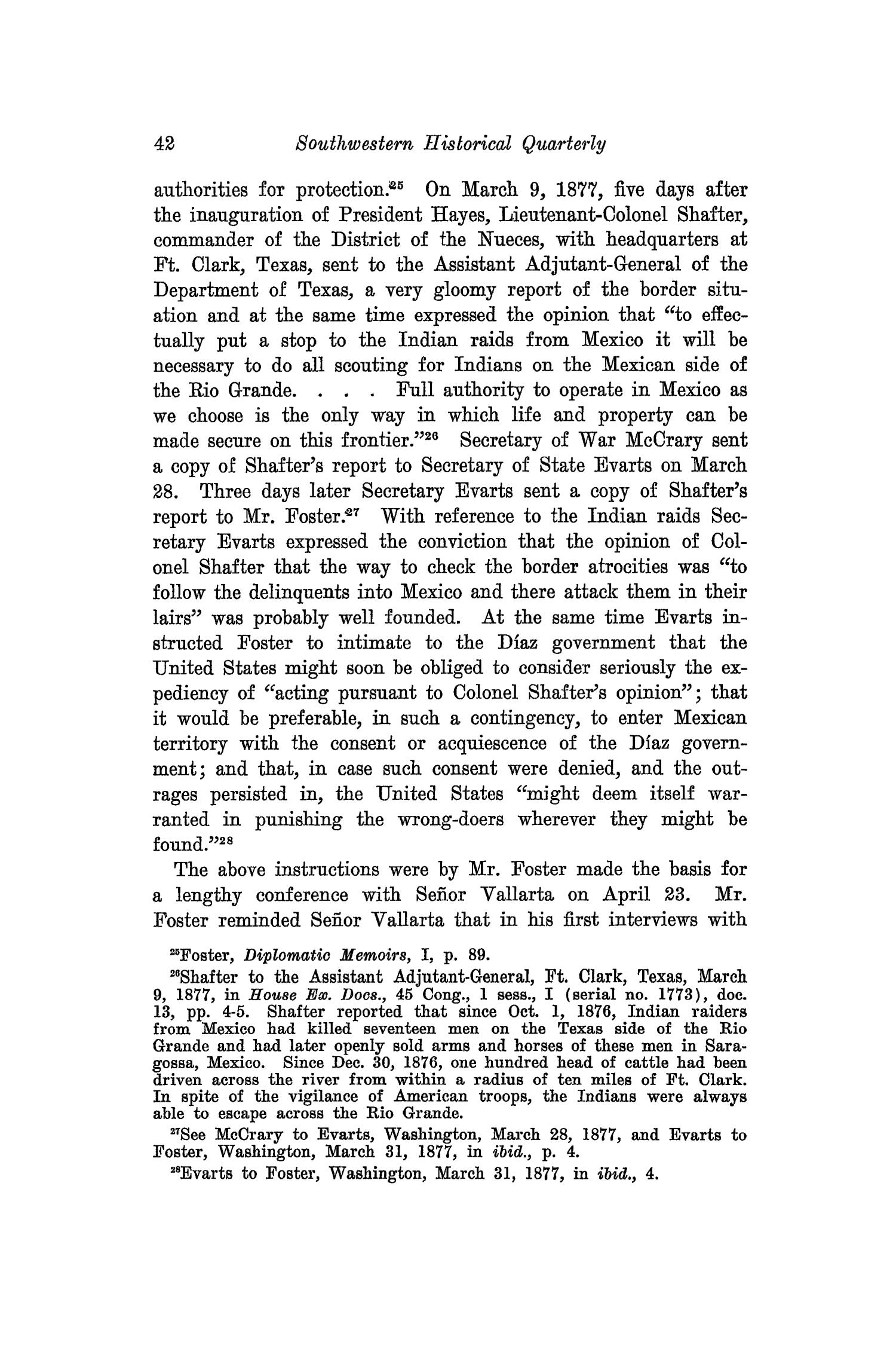 The Southwestern Historical Quarterly, Volume 28, July 1924 - April, 1925                                                                                                      42