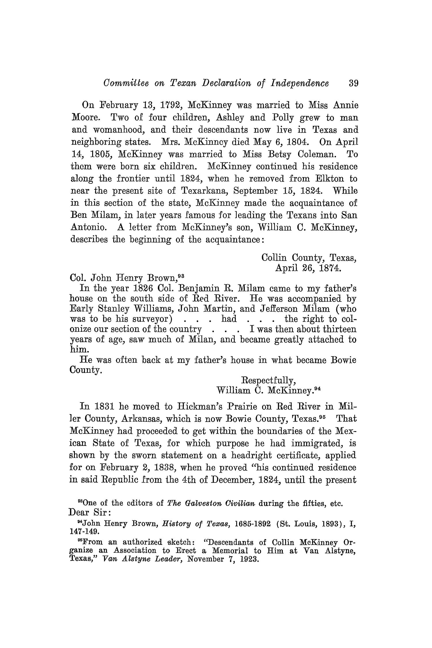 The Southwestern Historical Quarterly, Volume 31, July 1927 - April, 1928                                                                                                      39
