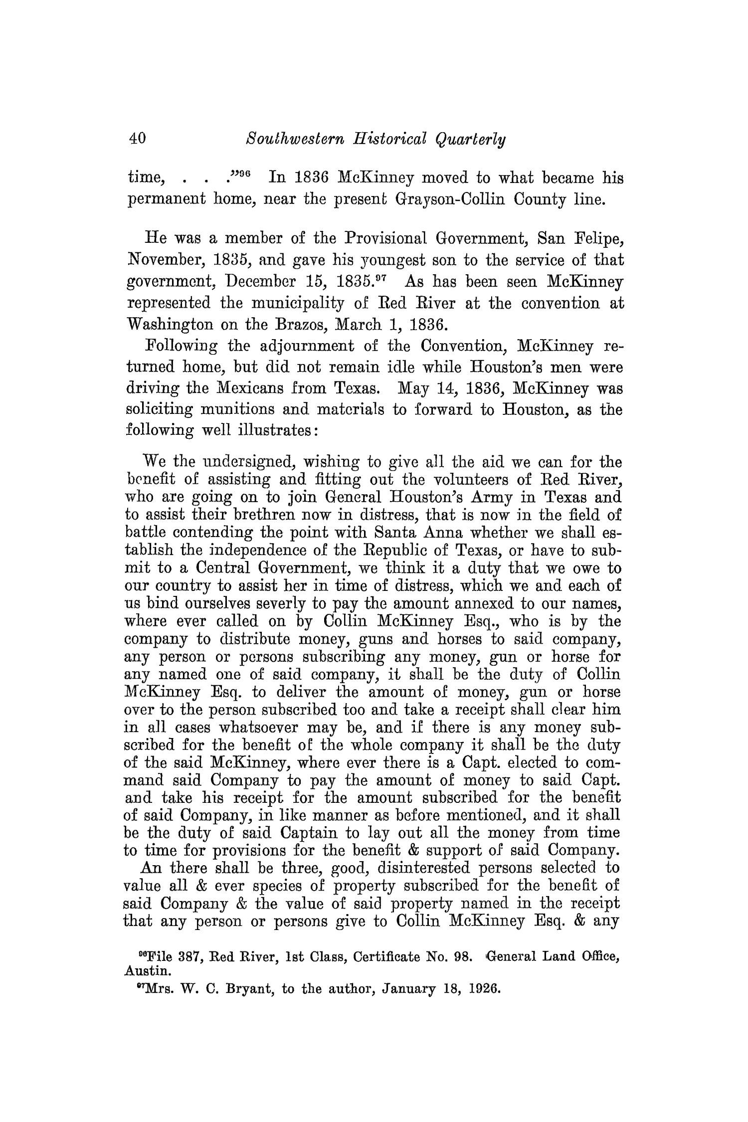 The Southwestern Historical Quarterly, Volume 31, July 1927 - April, 1928                                                                                                      40