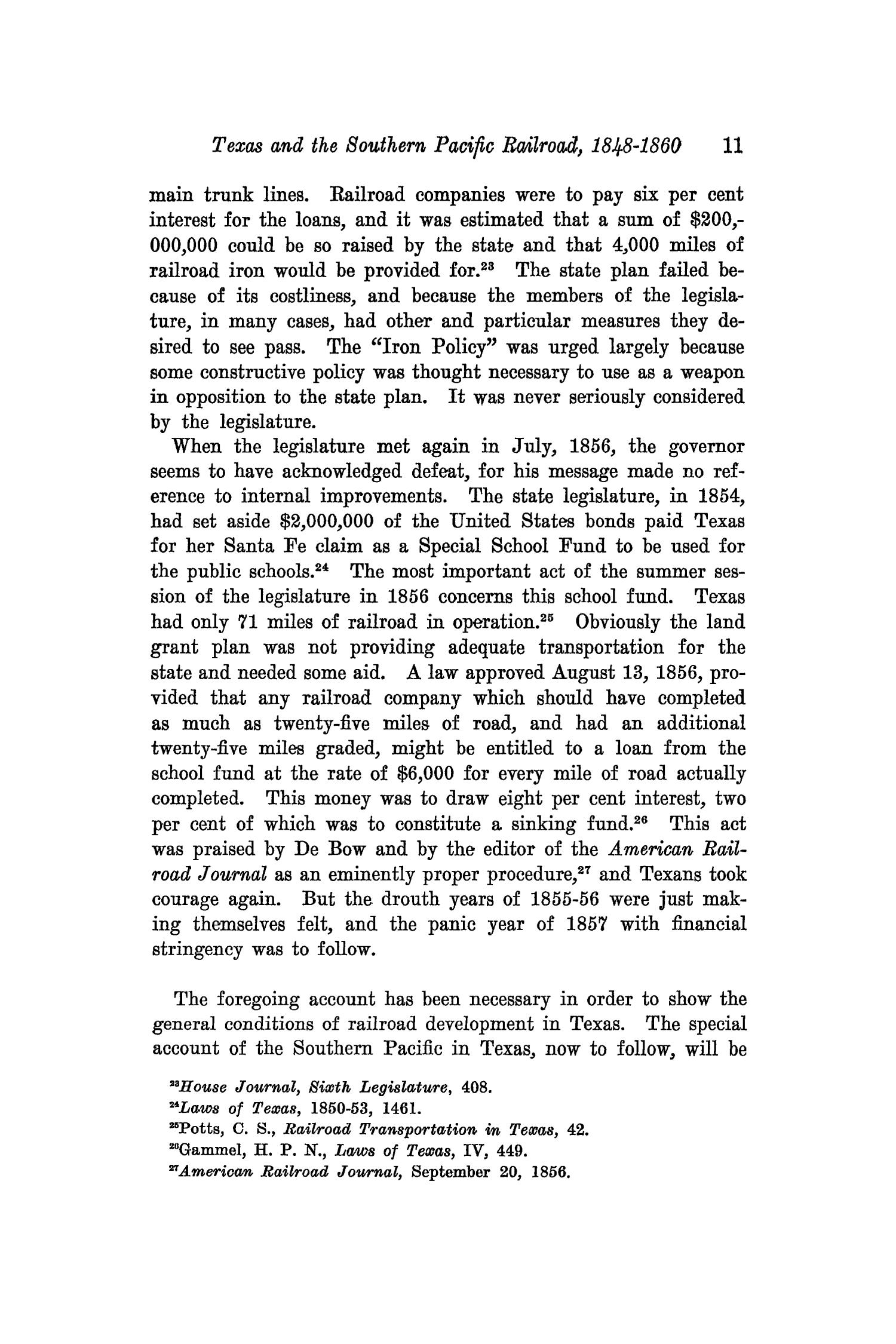 The Southwestern Historical Quarterly, Volume 35, July 1931 - April, 1932                                                                                                      11