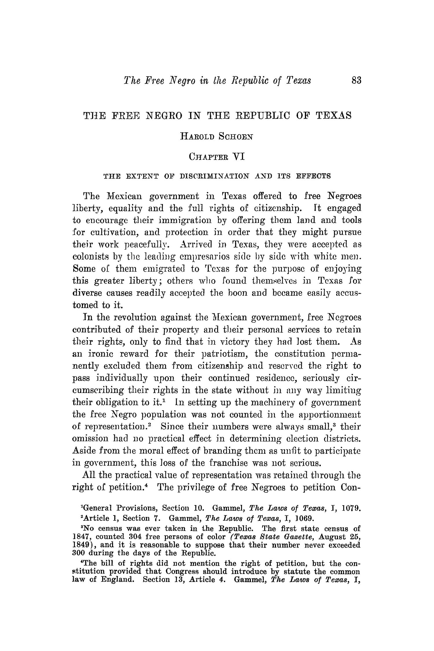 The Southwestern Historical Quarterly, Volume 41, July 1937 - April, 1938                                                                                                      83