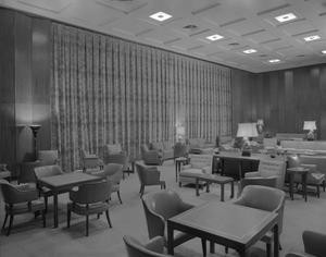 Primary view of object titled '[Mid-Century Lounge Room]'.