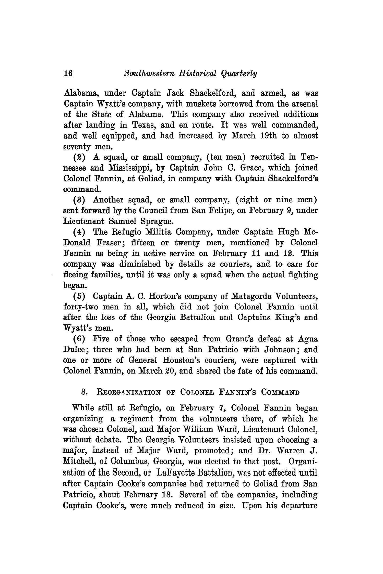 The Southwestern Historical Quarterly, Volume 43, July 1939 - April, 1940                                                                                                      16
