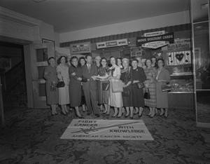 Primary view of object titled '[American Cancer Society Group Photo]'.