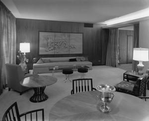 Primary view of object titled '[Mid-Century Modern Living Room]'.