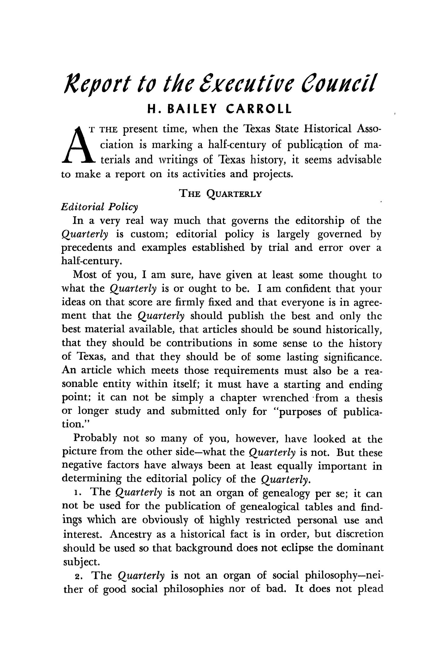 The Southwestern Historical Quarterly, Volume 51, July 1947 - April, 1948                                                                                                      59